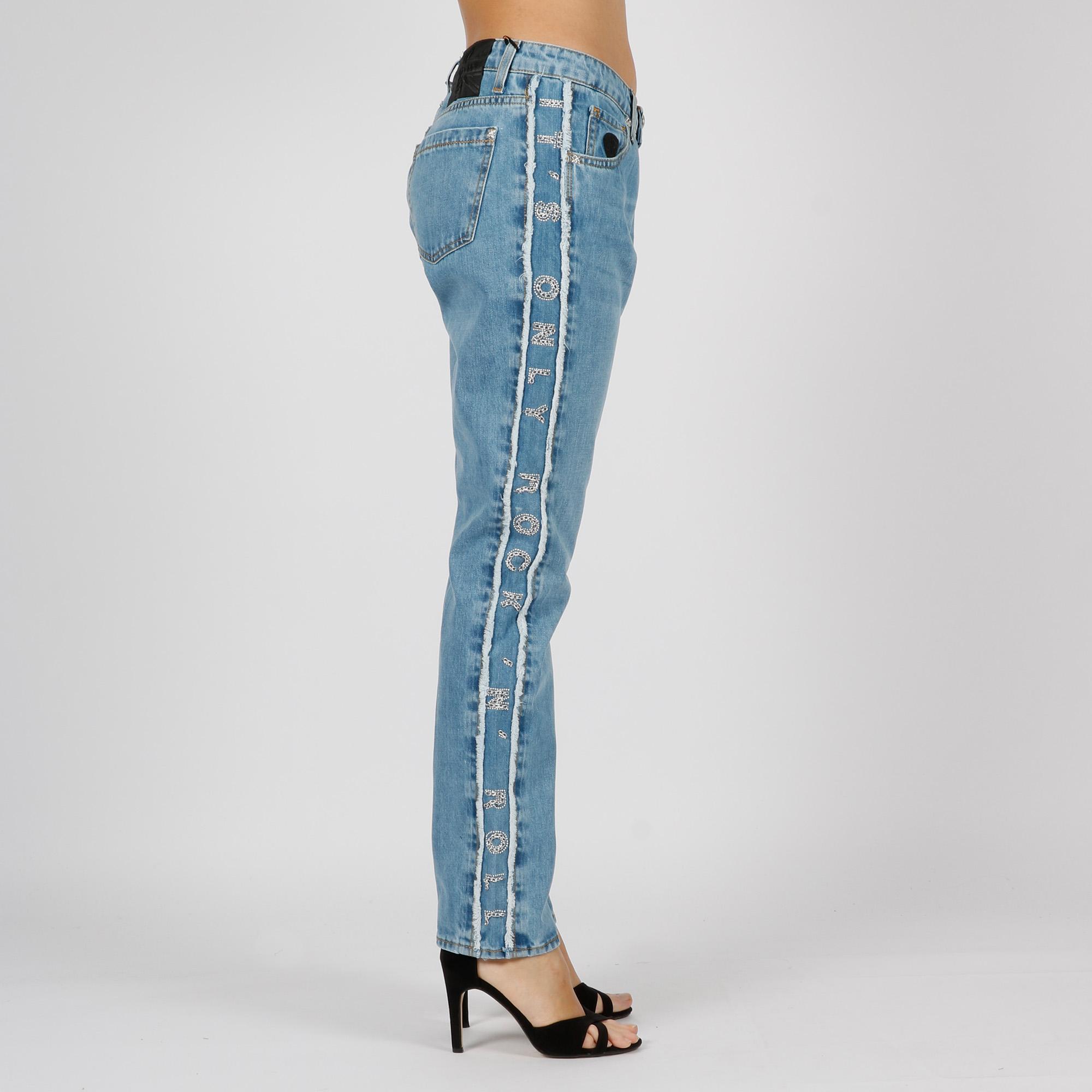 Jeans gallus patty- Denim