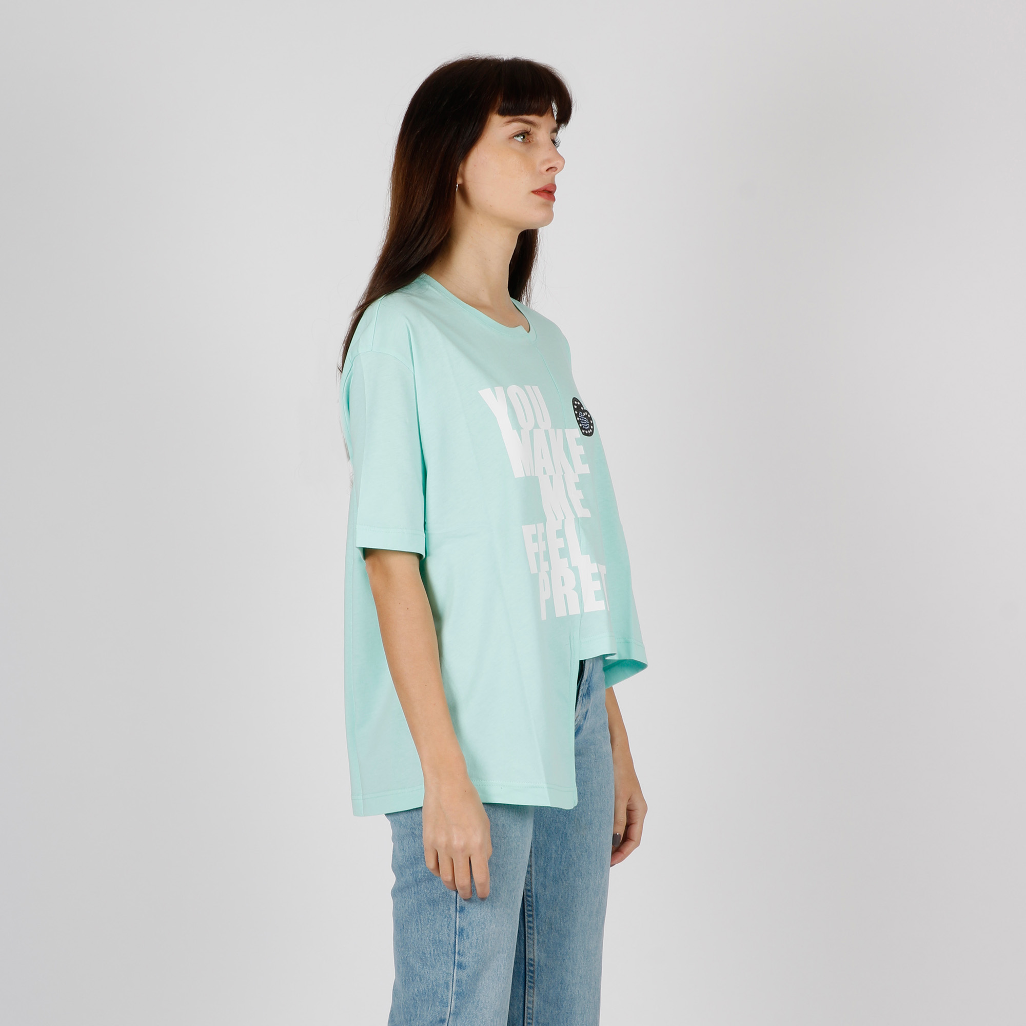 T-shirt doppia lunghezza - Tiffany