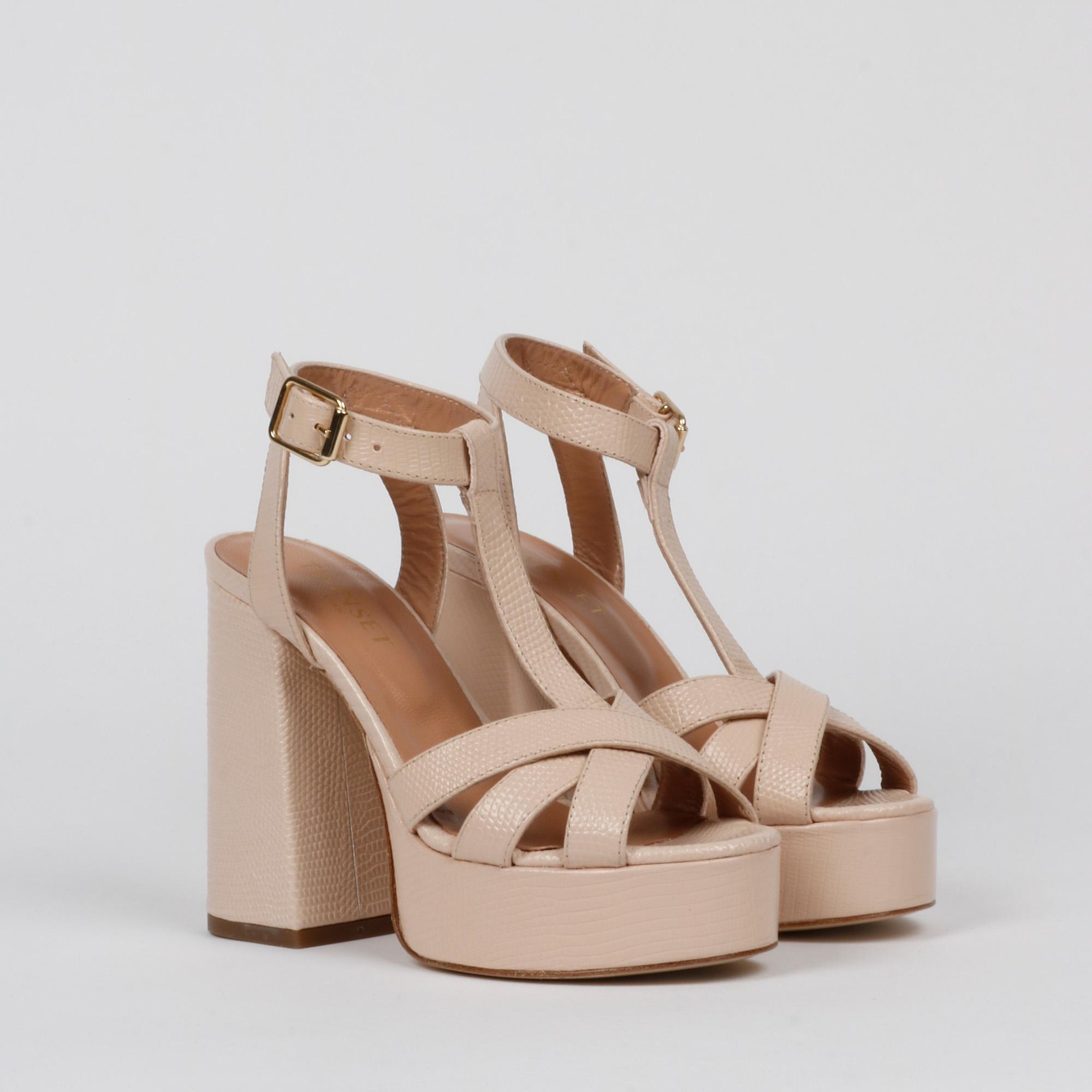 Sandalo t bar - Cipria