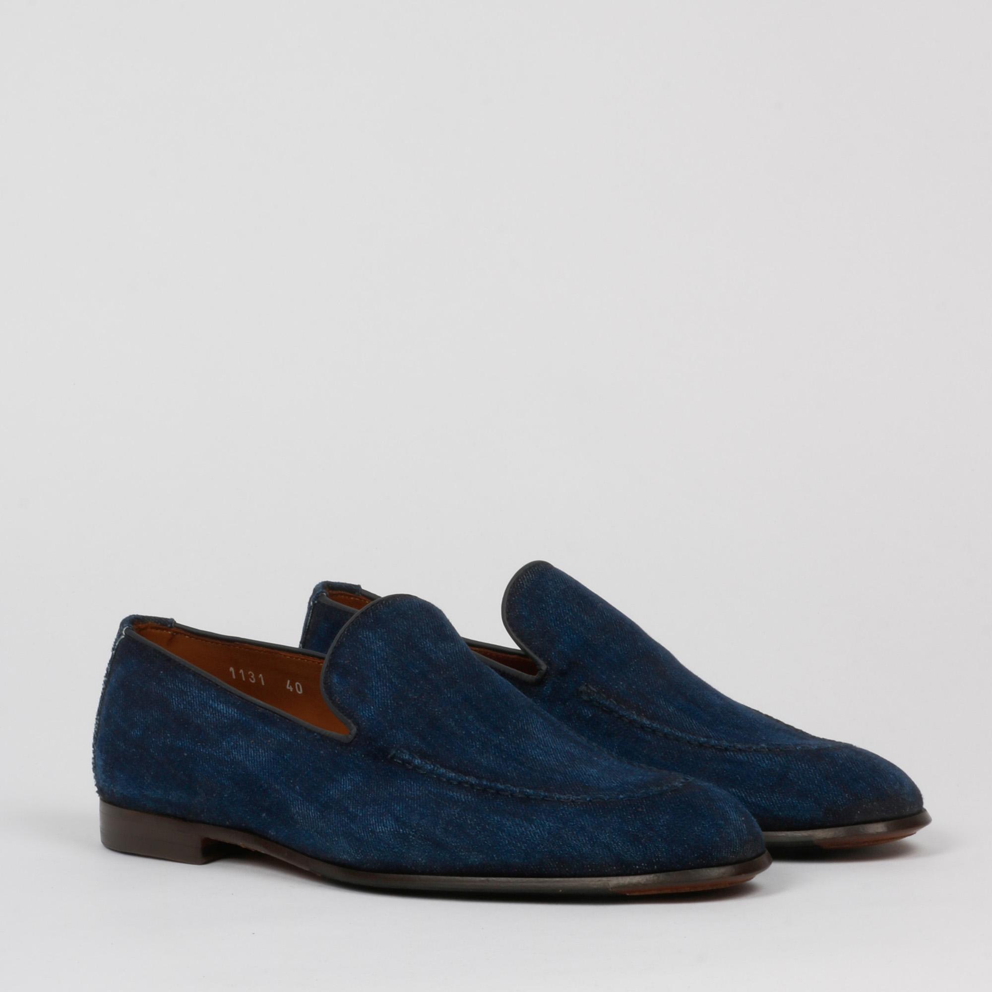 Mocassino venetian - Blu jeans