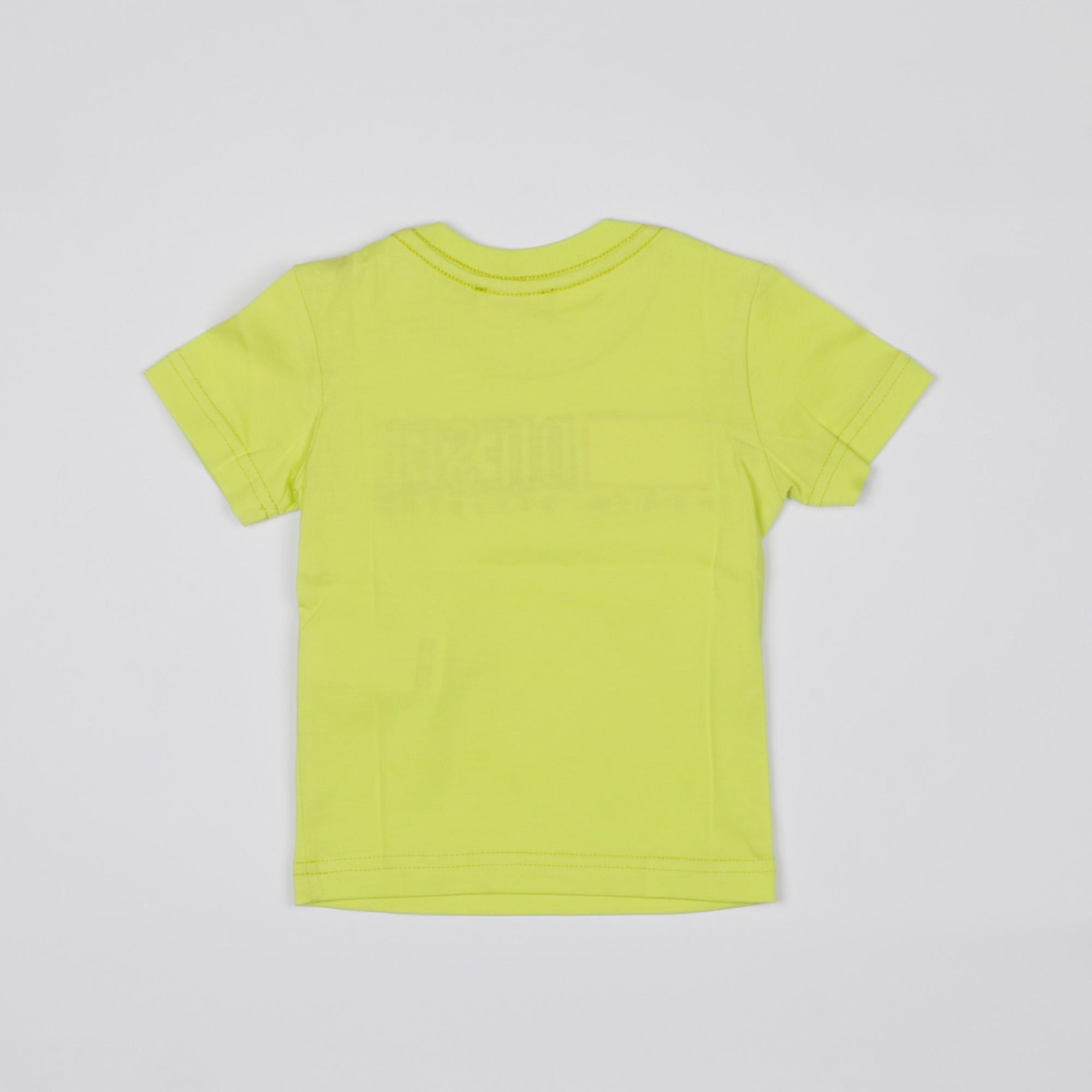 t-shirt ricamo logo - Lime