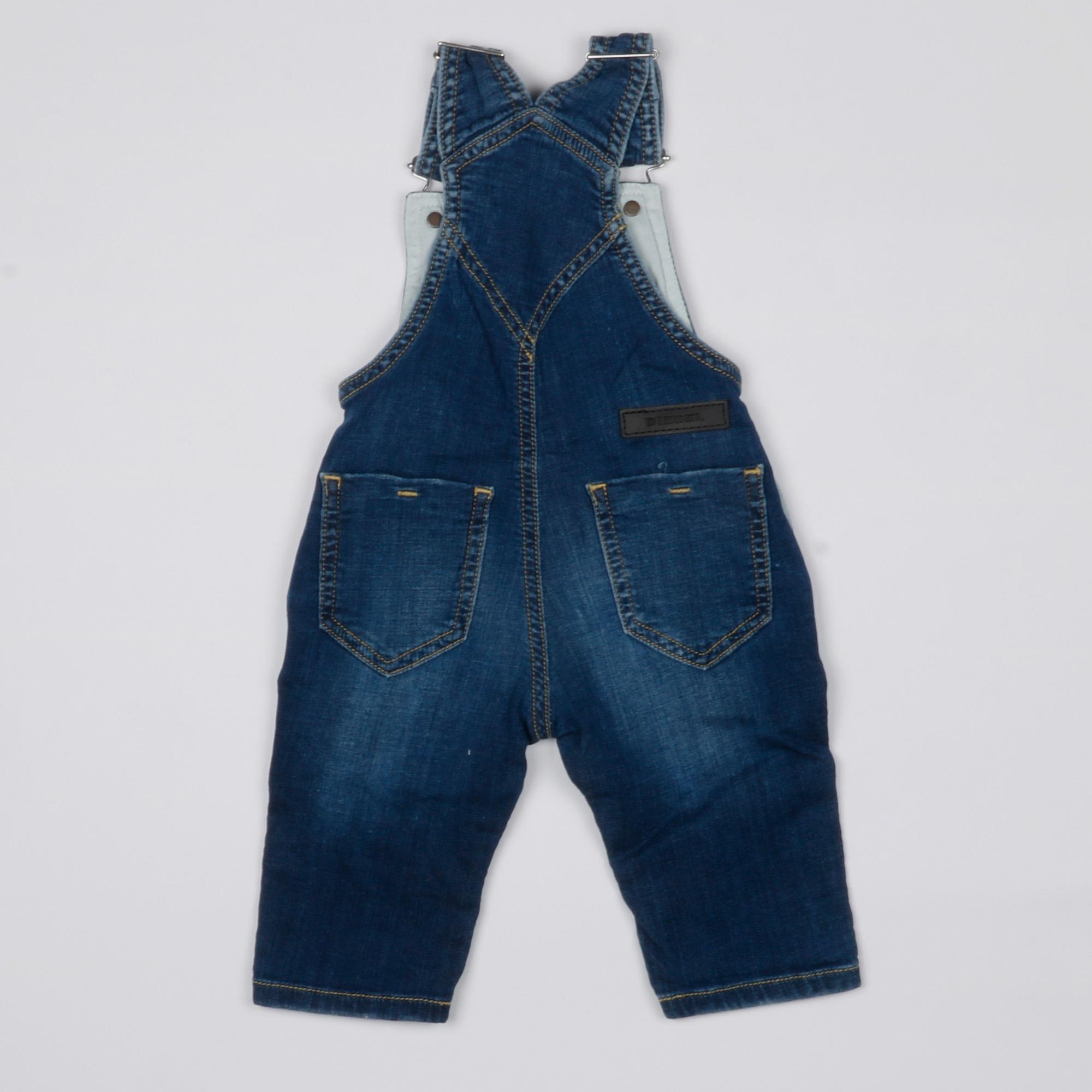 Salopette in Jogg Jeans - Denim