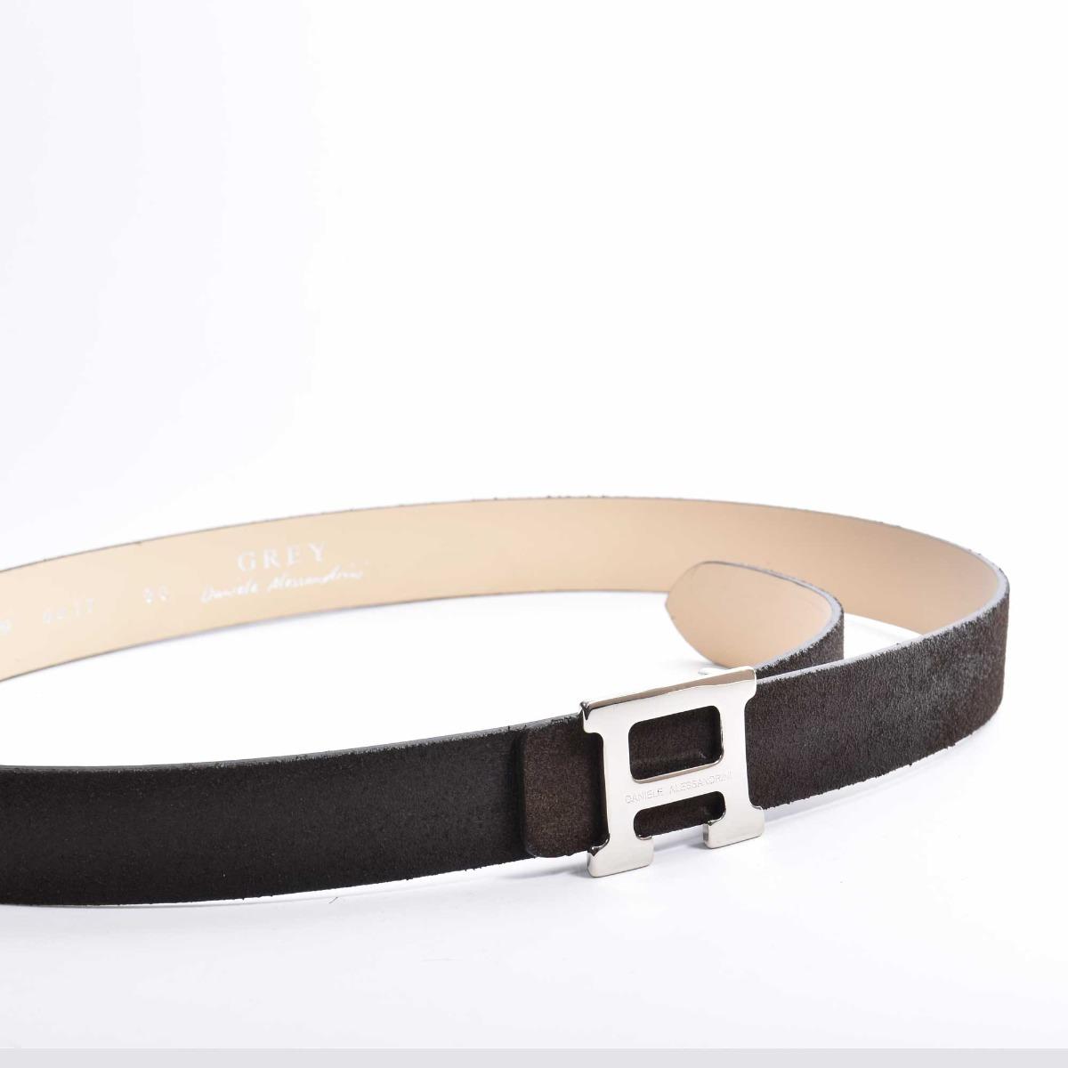 Cintura scamosciata - Moro
