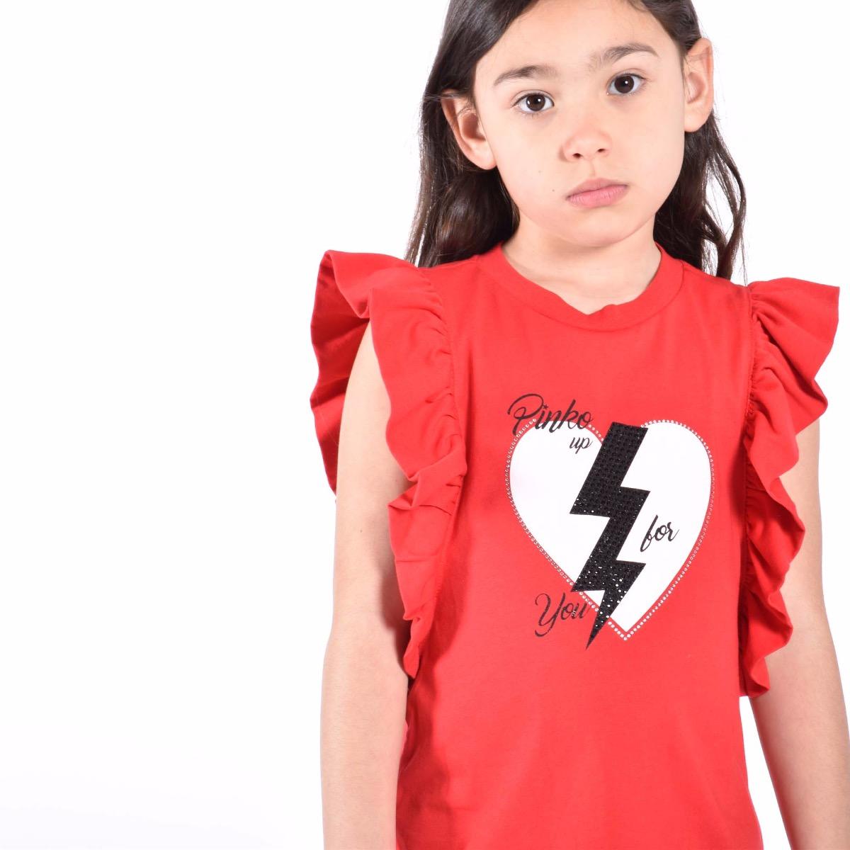 Completo jersey e strech - Rosso / Nero