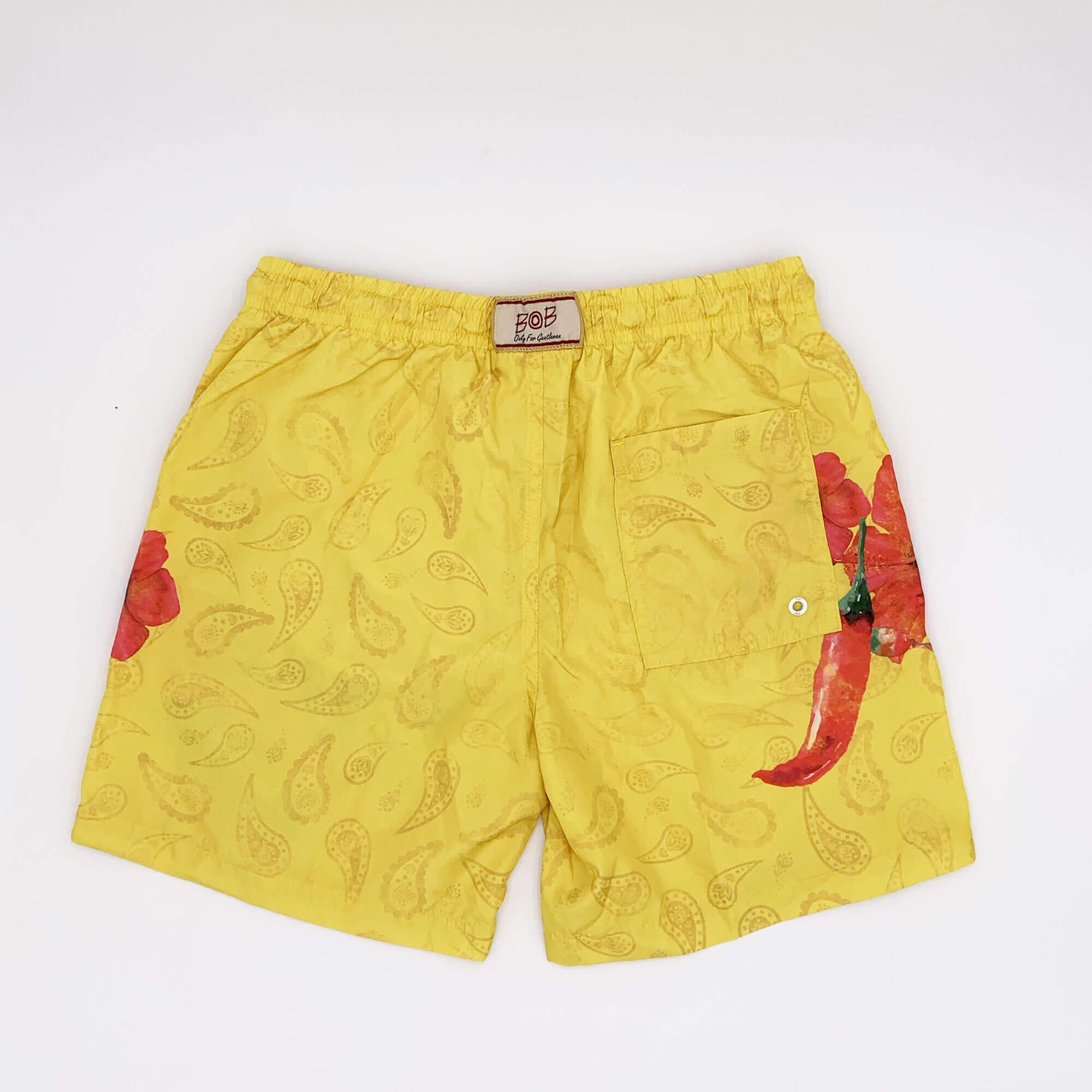 Costume boxer mexico - Giallo