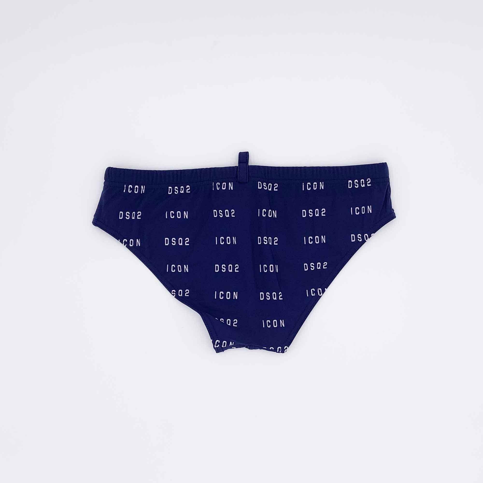 Costume slip all over logo- Blu