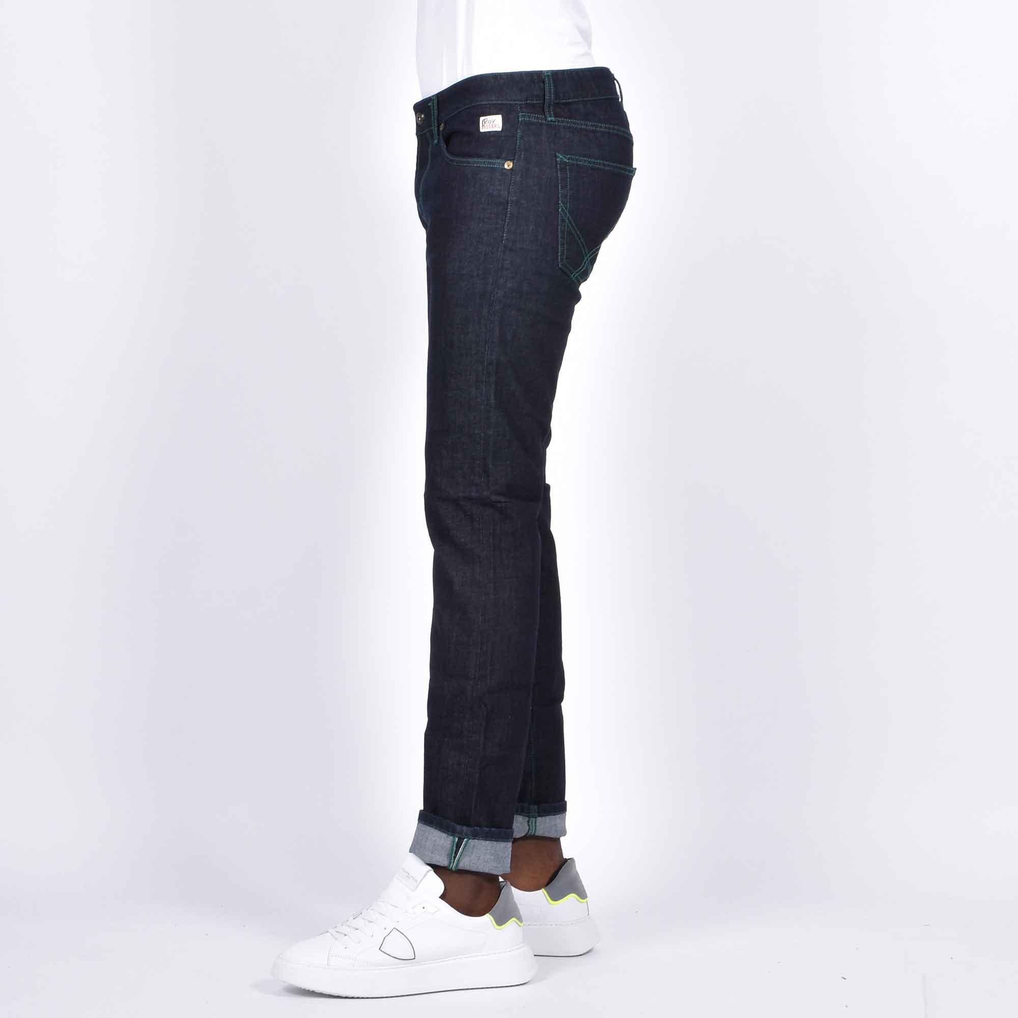 Jeans rinse- Denim scuro