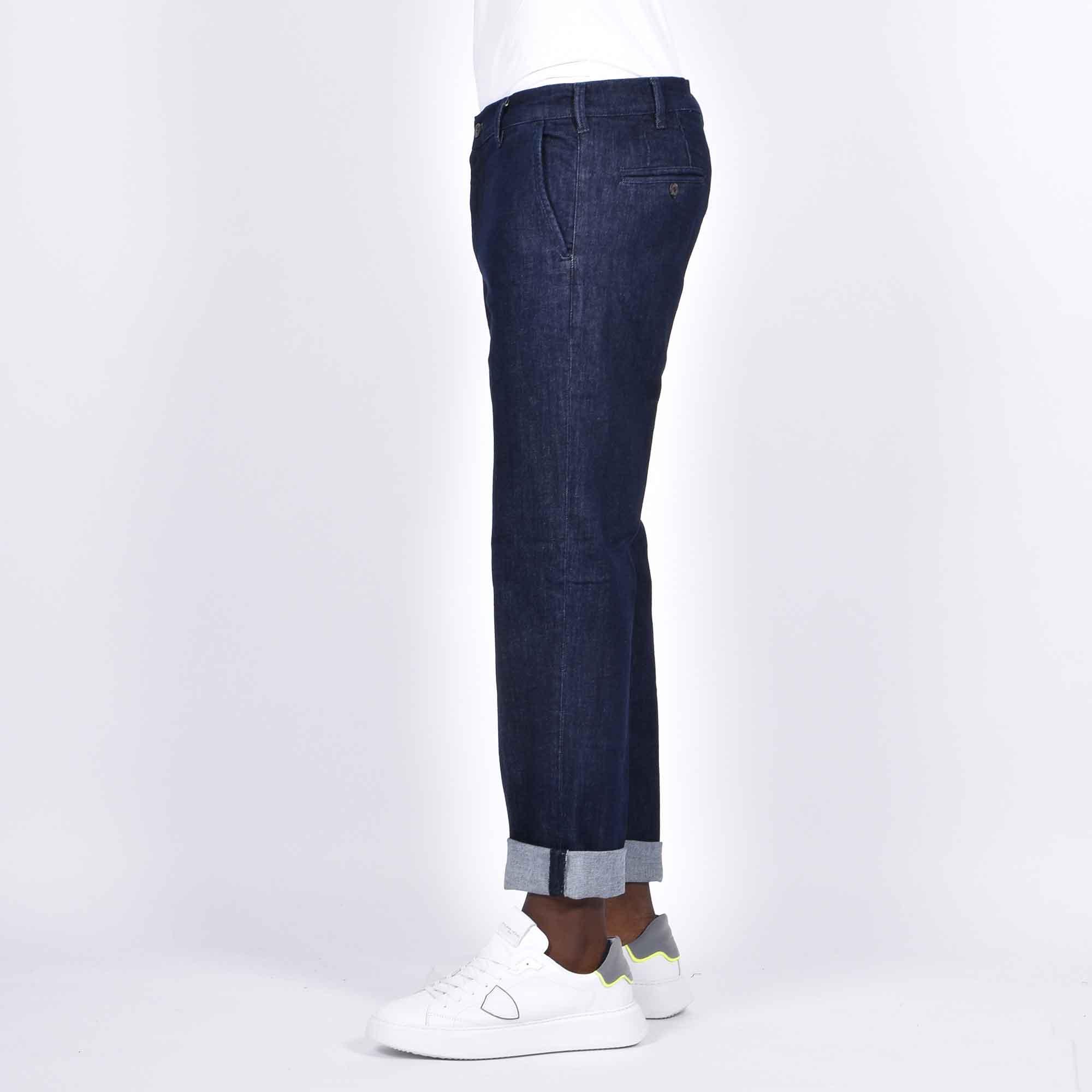 Jeans chino viktor - Denim scuro
