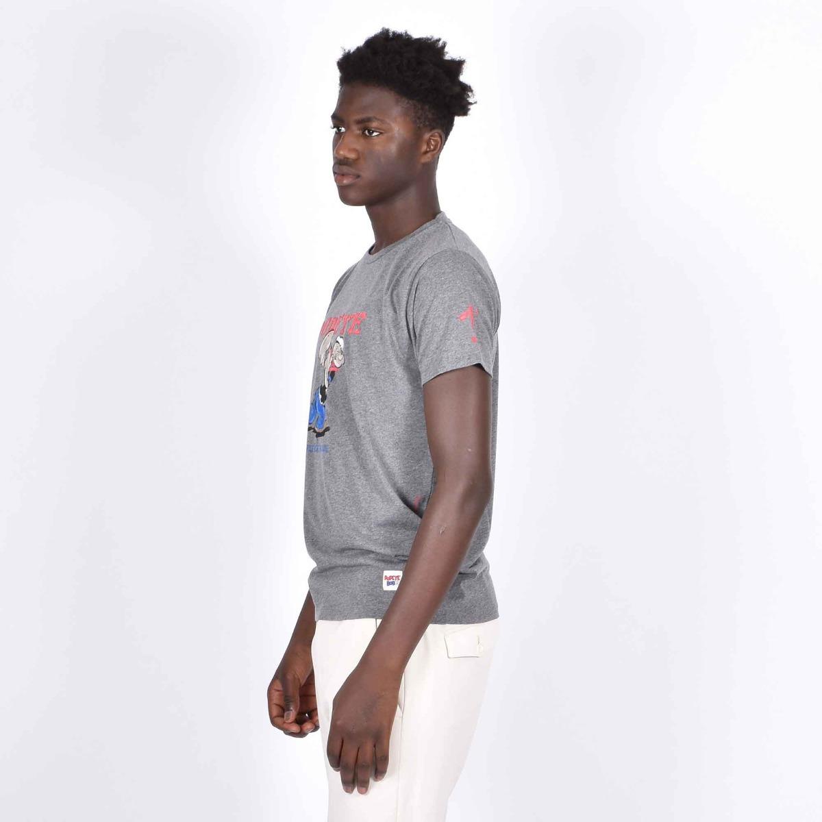 T-shirt denver popeye- Grigio