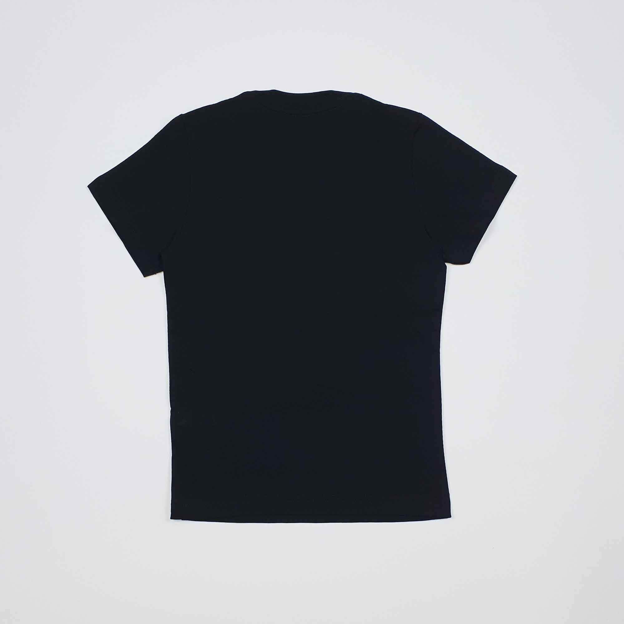 T-shirt logo D - Nero