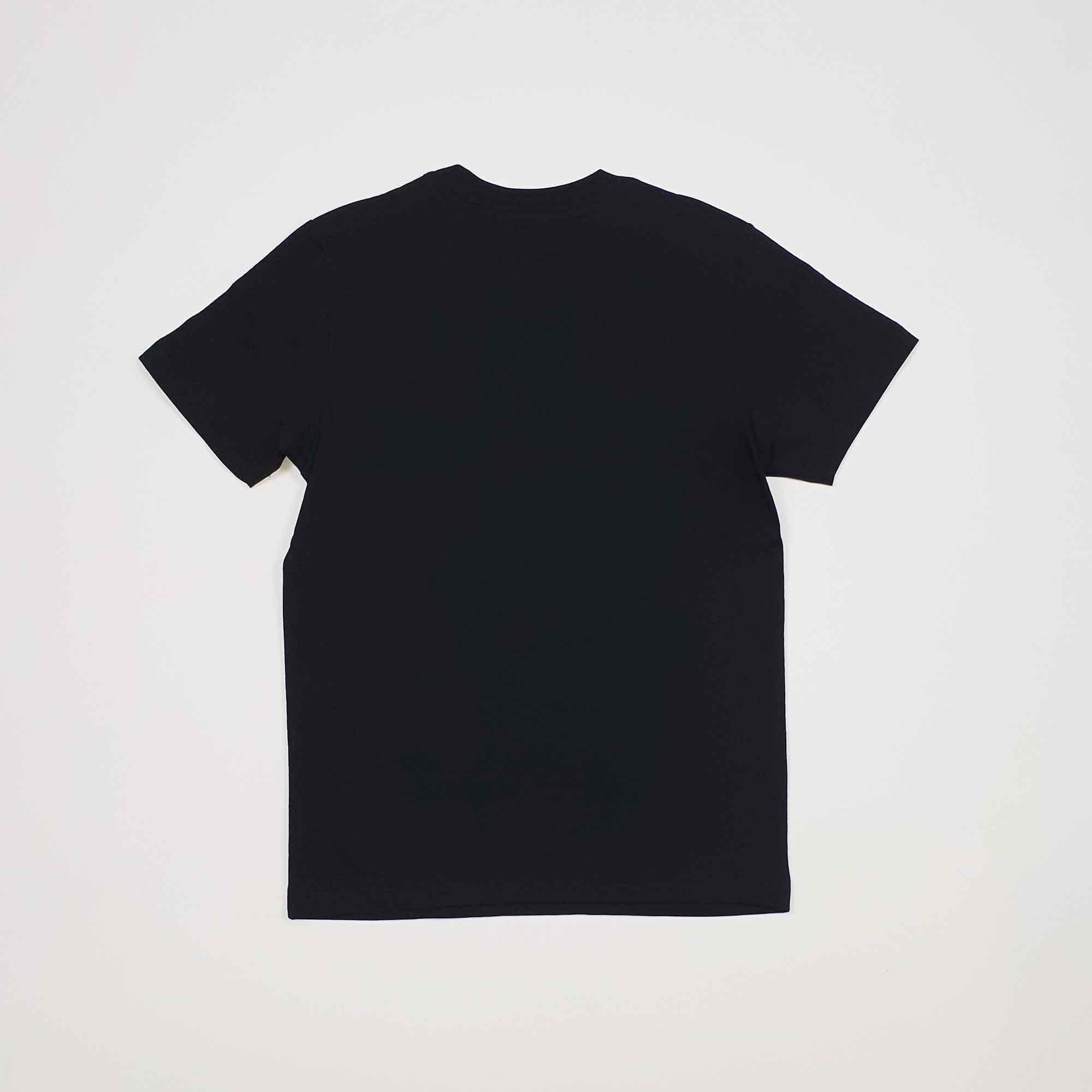 T-shirt maxi logo - Nero