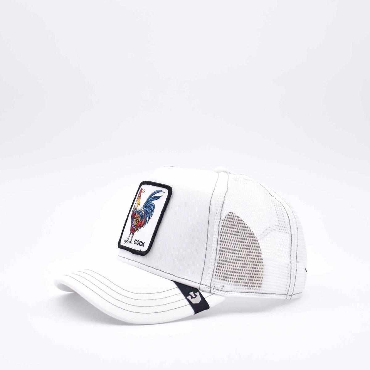Baseball cock bianco - Bianco