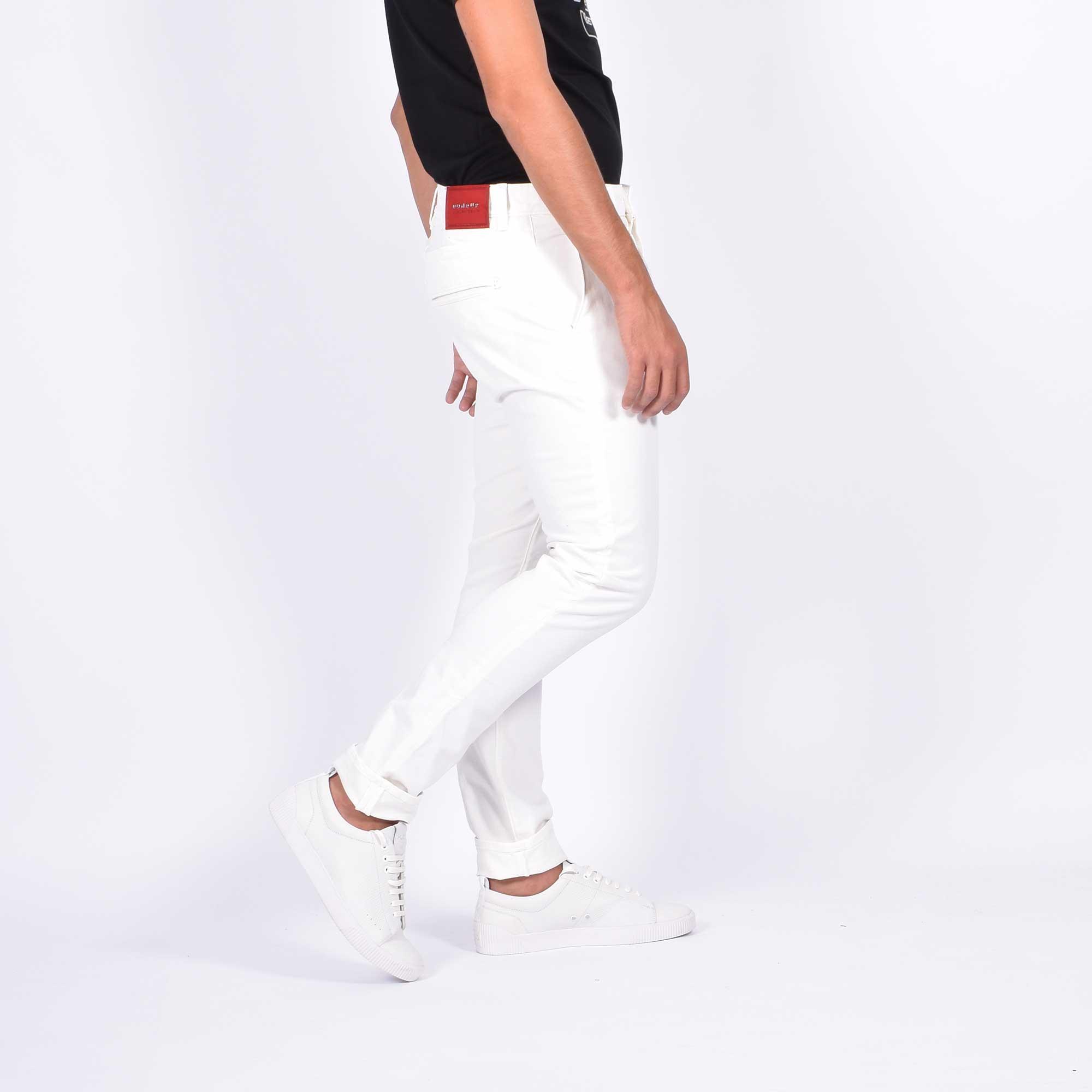 Pantalone chester - Bianco
