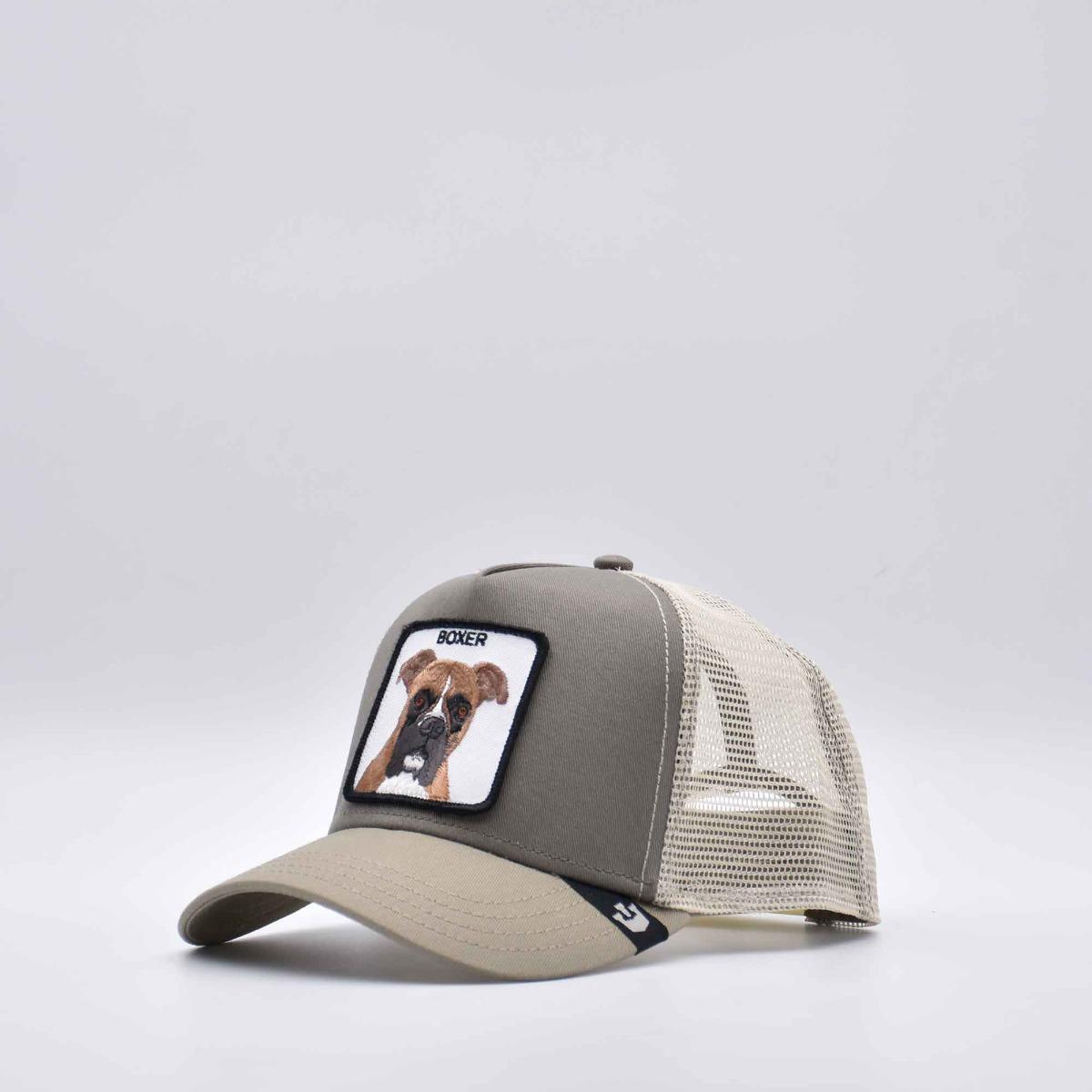 Cappello baseball boxer- Tortora