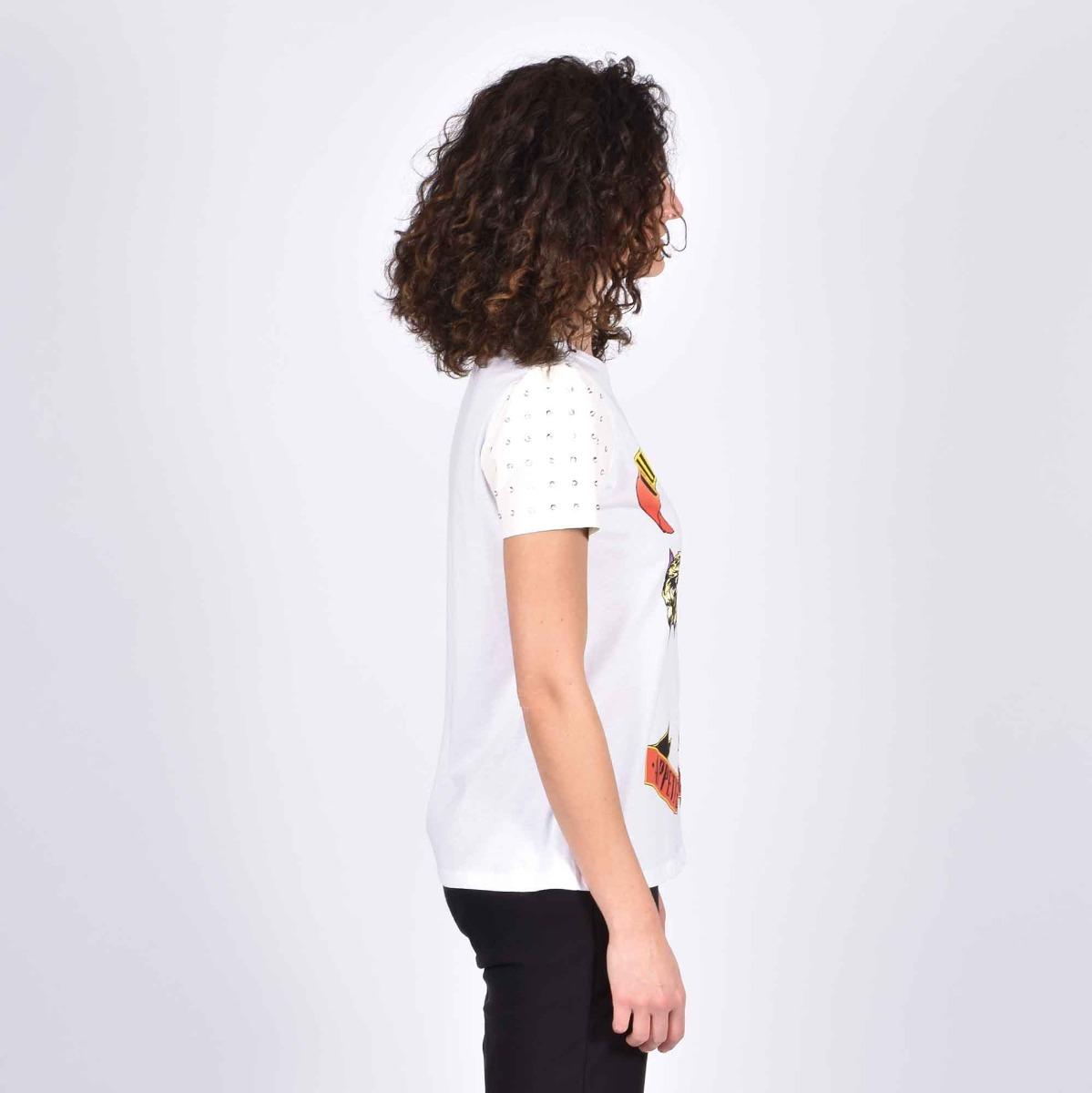 T-shirt guns roses - Bianco