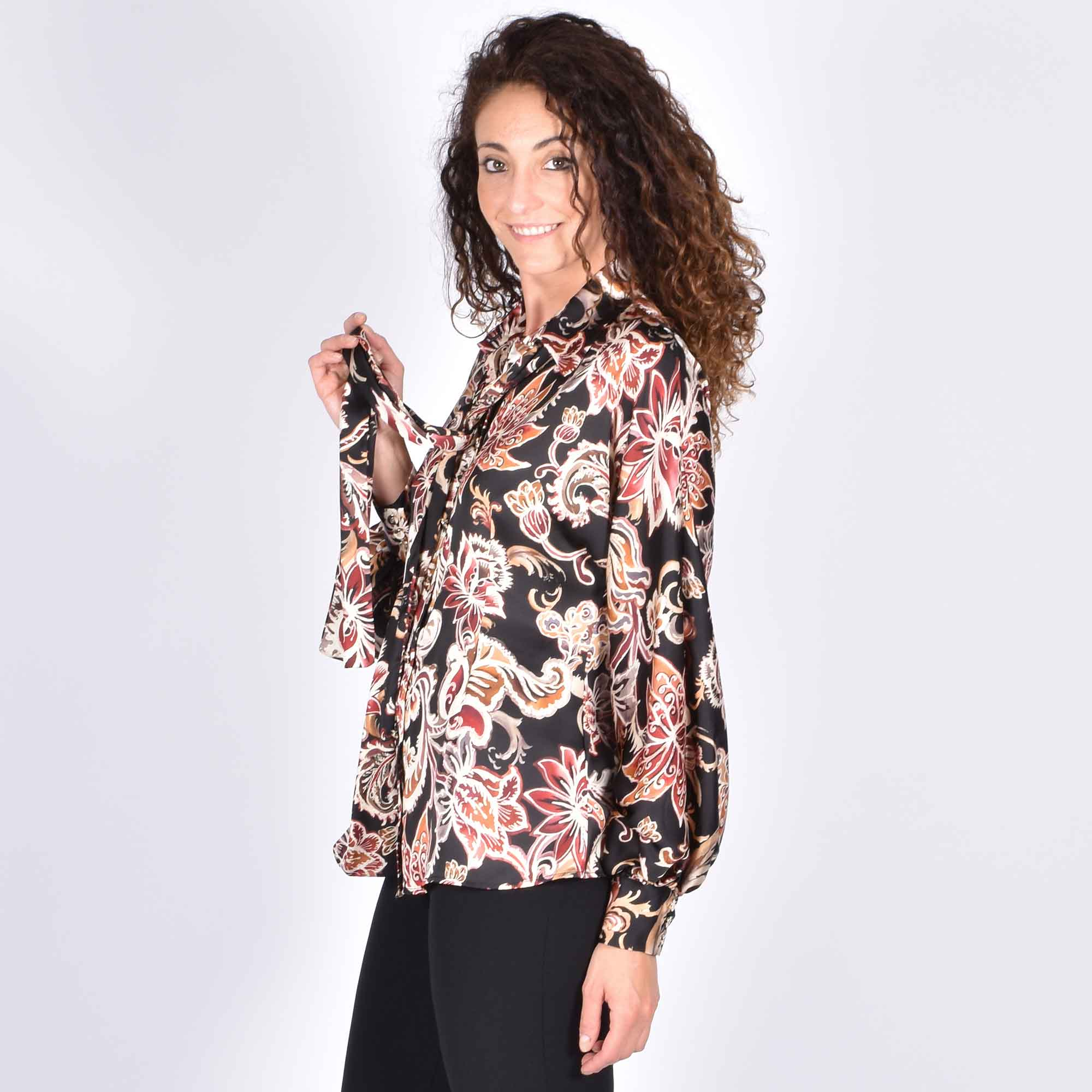 Camicia cachemere- Multicolor