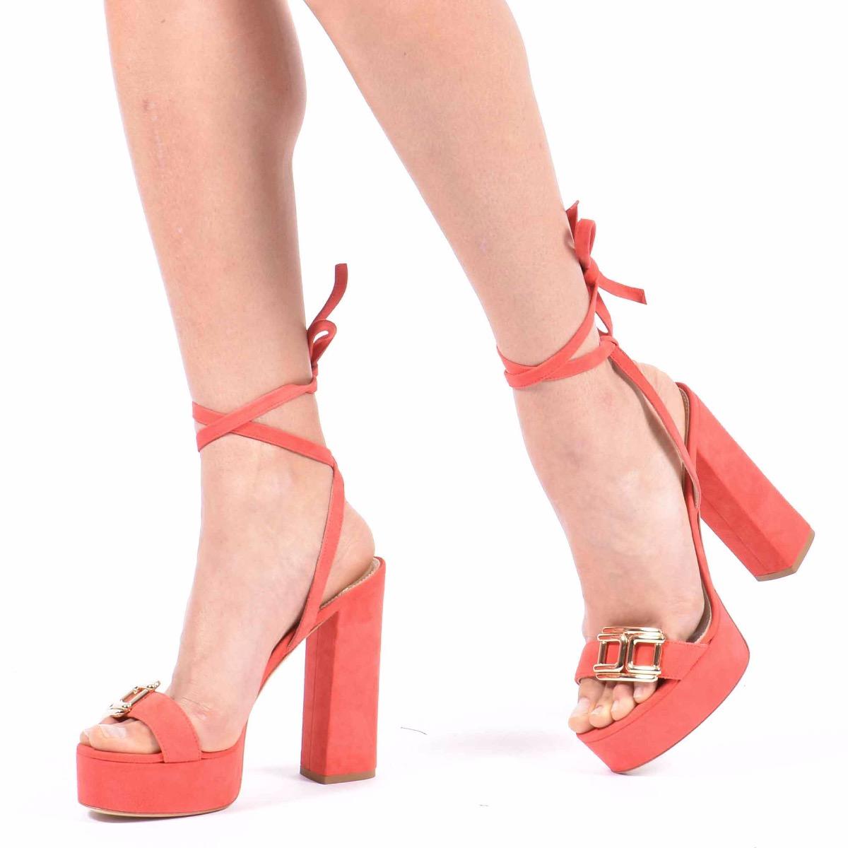 Sandalo logo oro - Amaranto