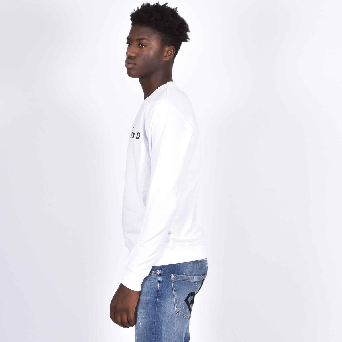 Felpa felcin logo - Bianco