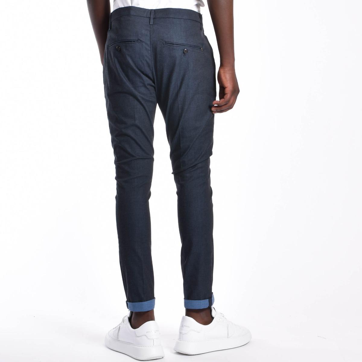 Pantalone gaubert- Blu