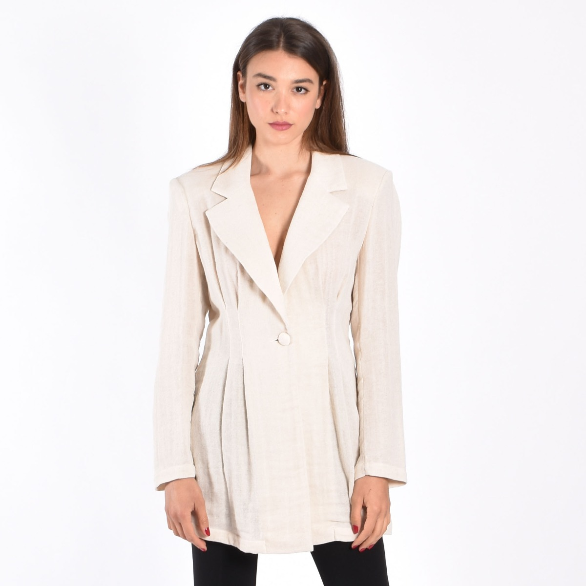 Giacca oversize- Beige
