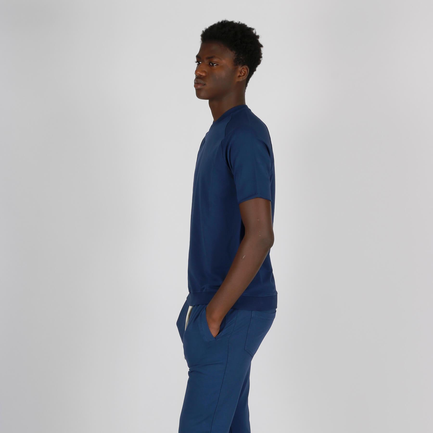 Girocollo felpa - Blu