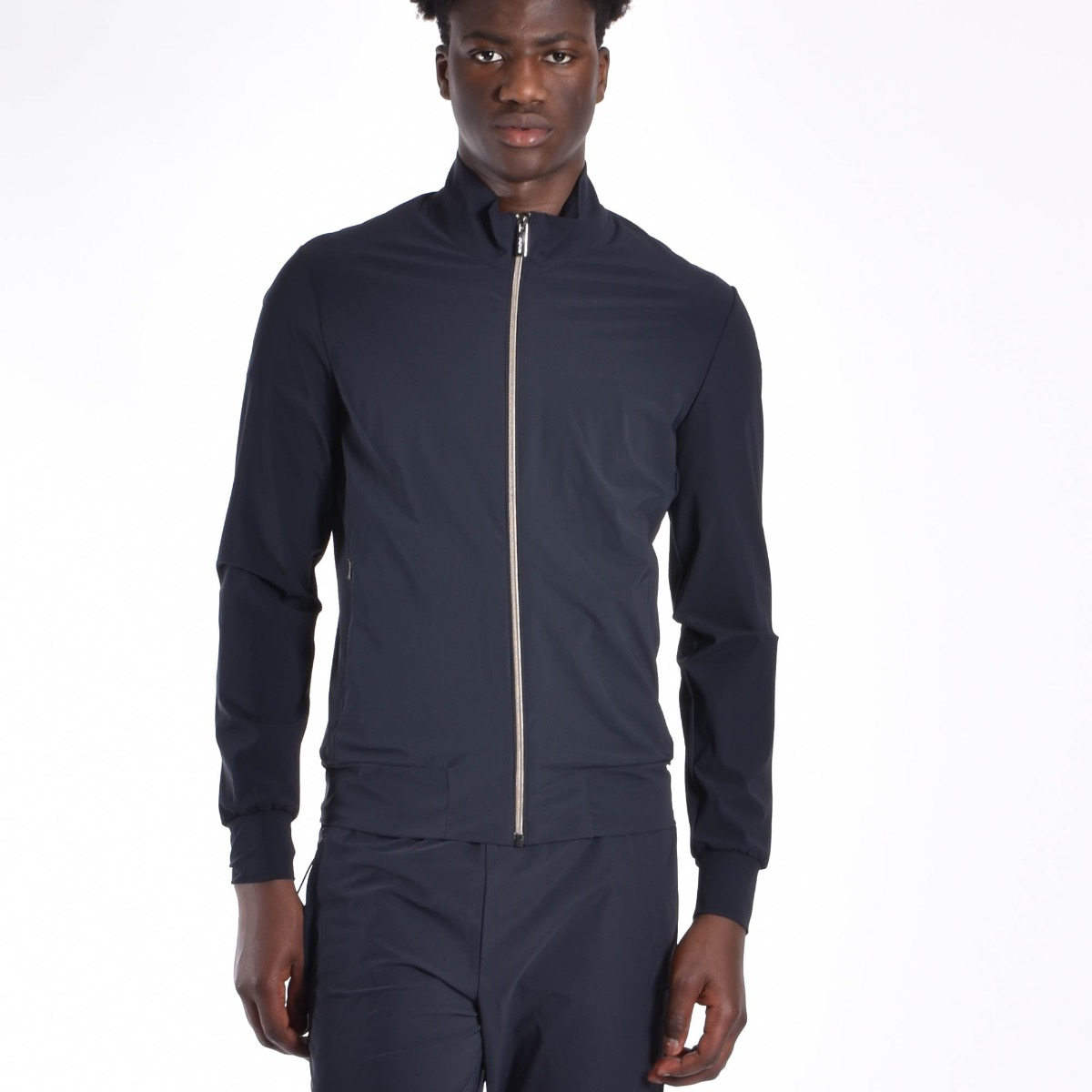 Giubbino summer fleece zip - Blu