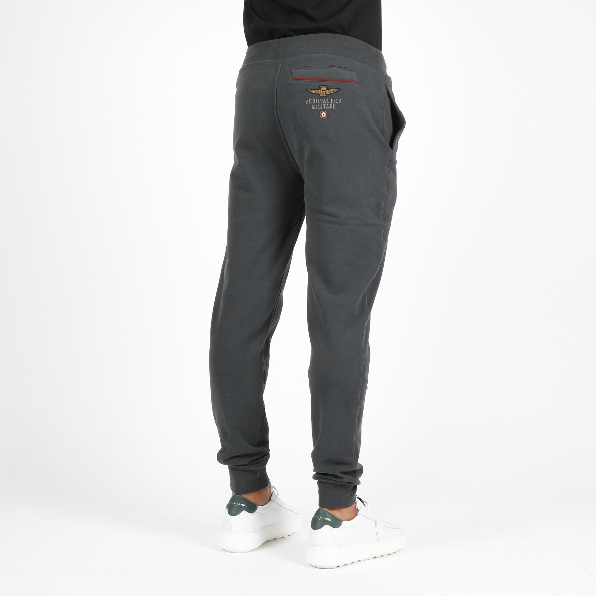 Pantalone tuta logo - Asfalto
