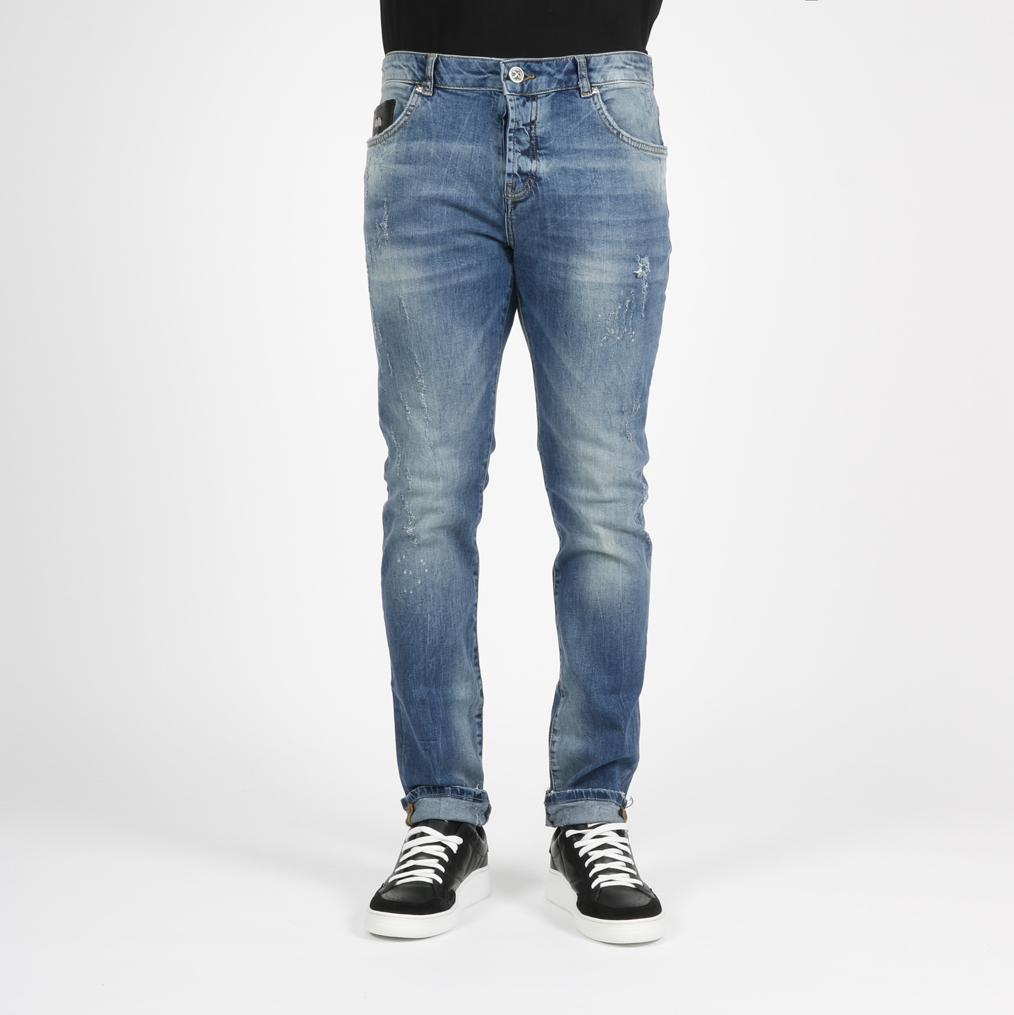 Jeans logo richmond - Denim