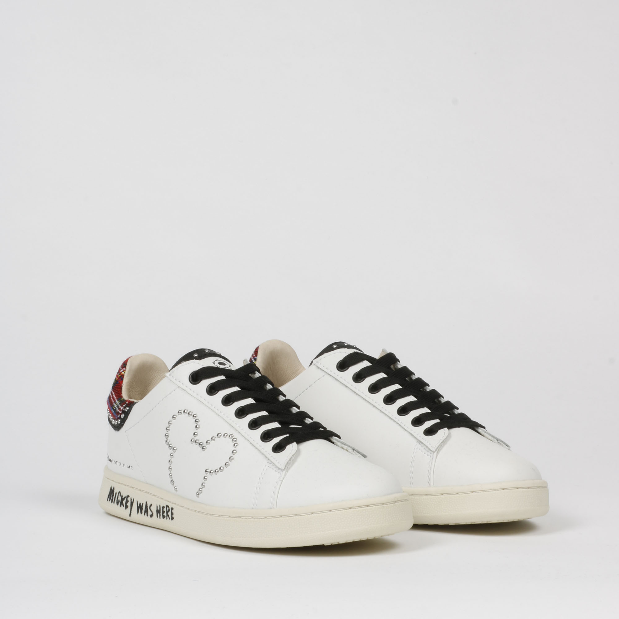 Sneakers mickey borchie - Bianco