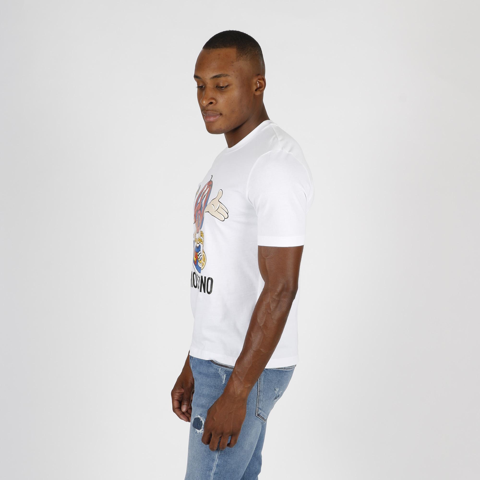 T-shirt omino peace - Bianco ottico