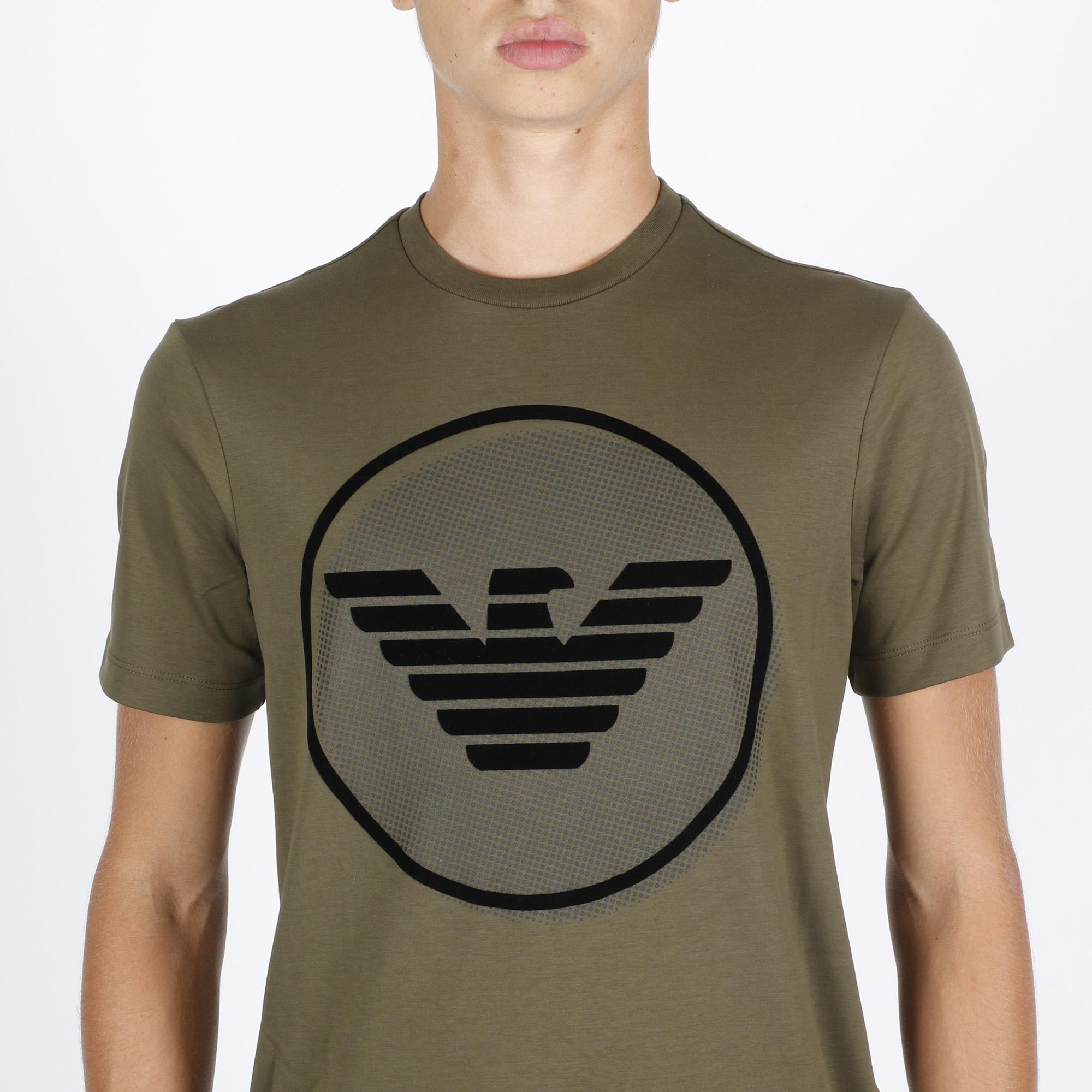 T-shirt interlock eagle - Verde