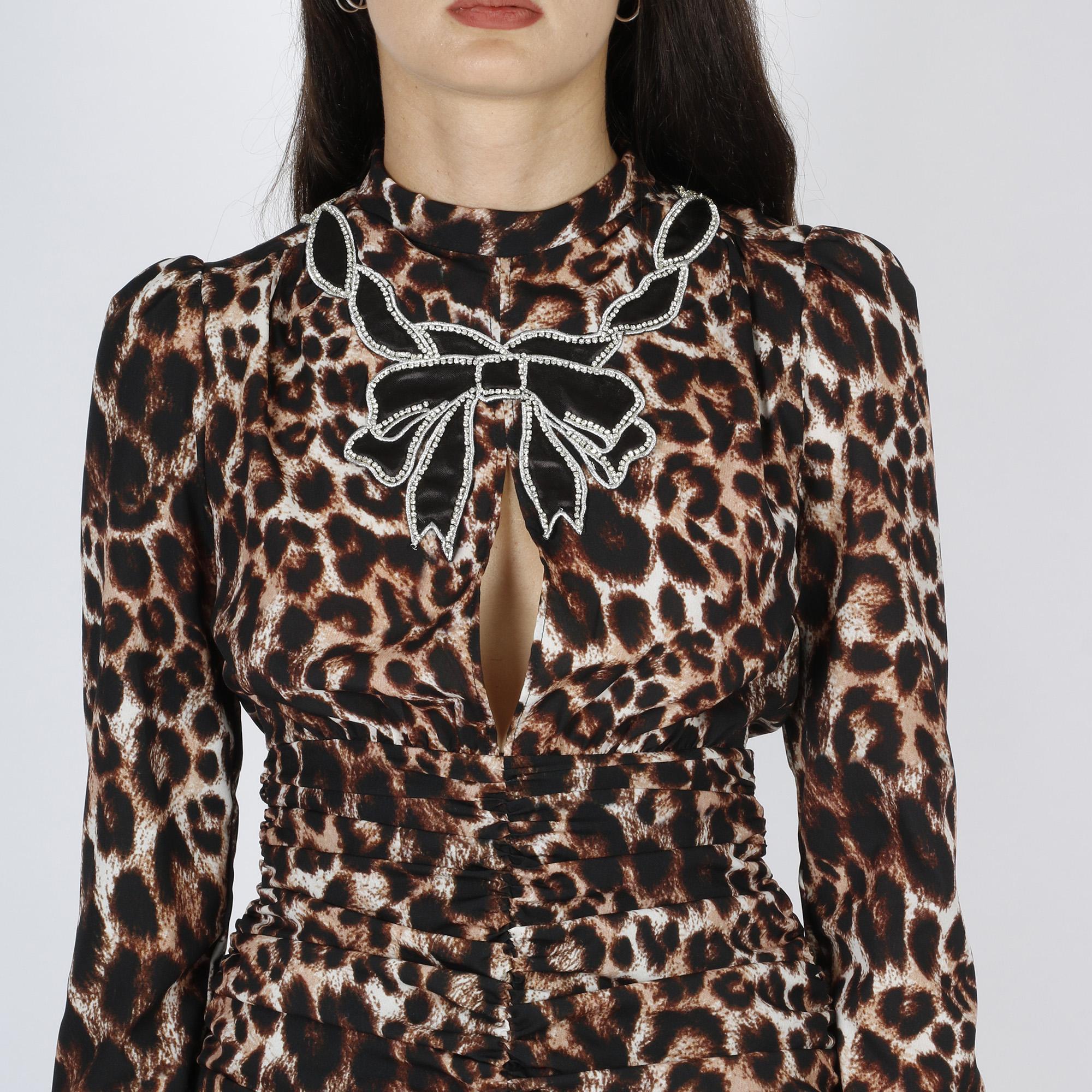 Mini dress lea - Maculato