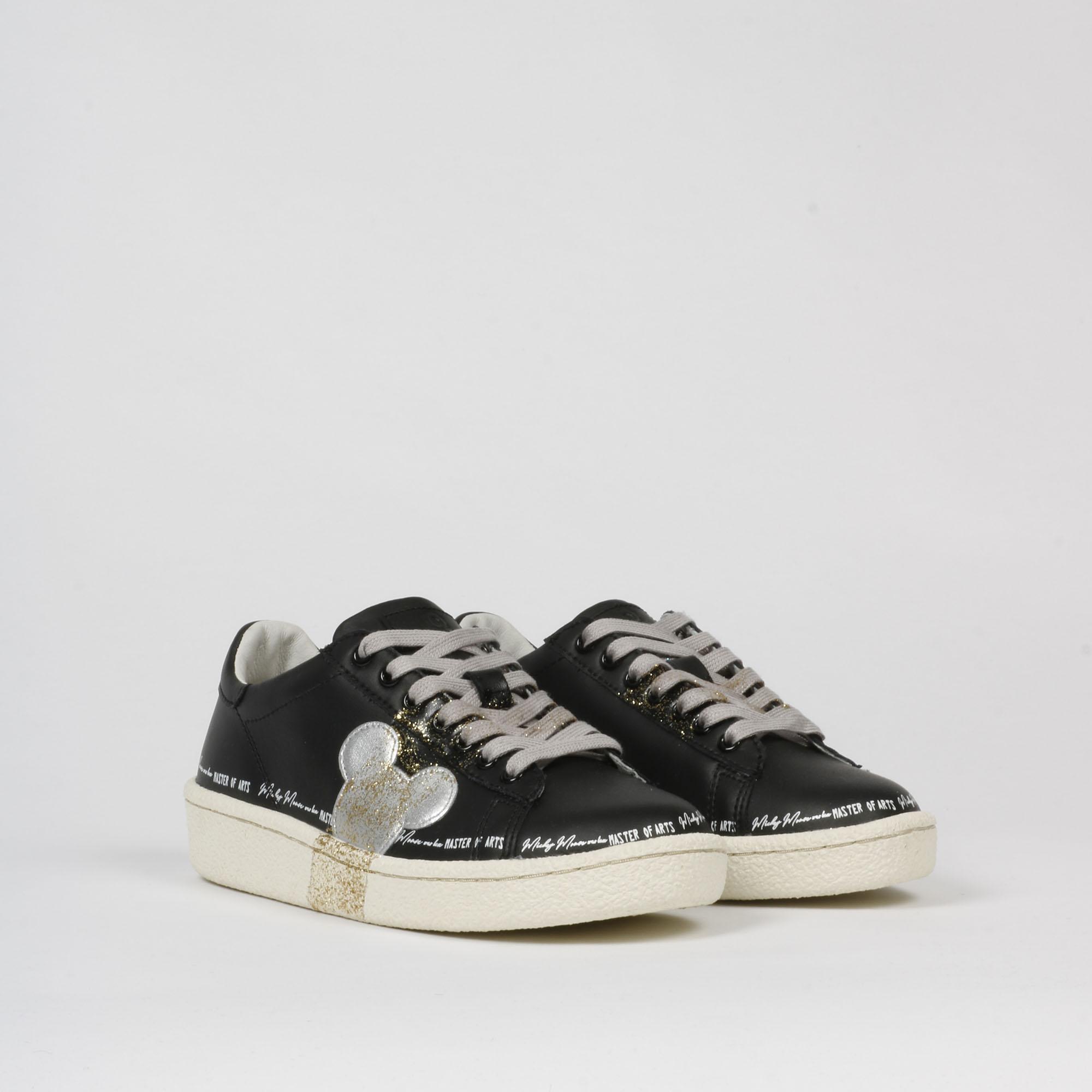 Sneakers grandmaster glitter - Nero