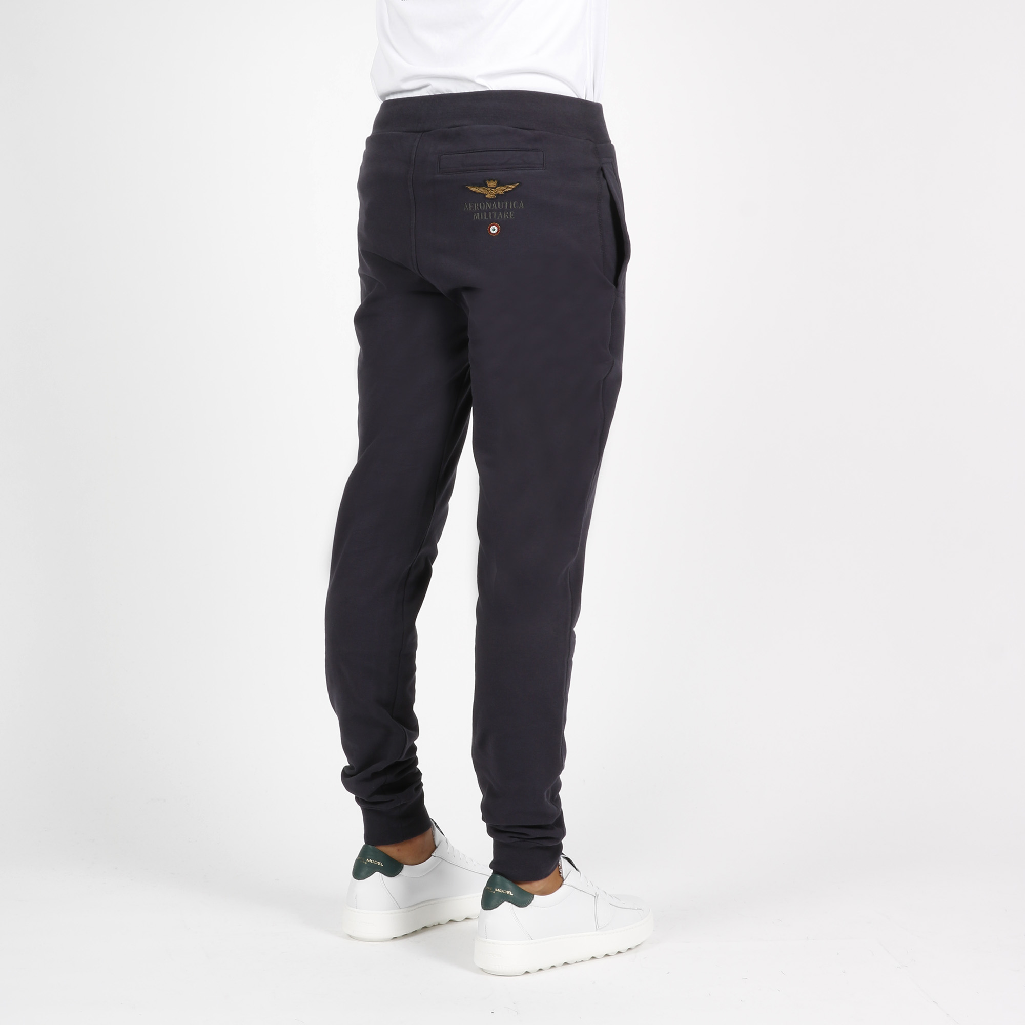 Pantalone tuta logo - Blu navy