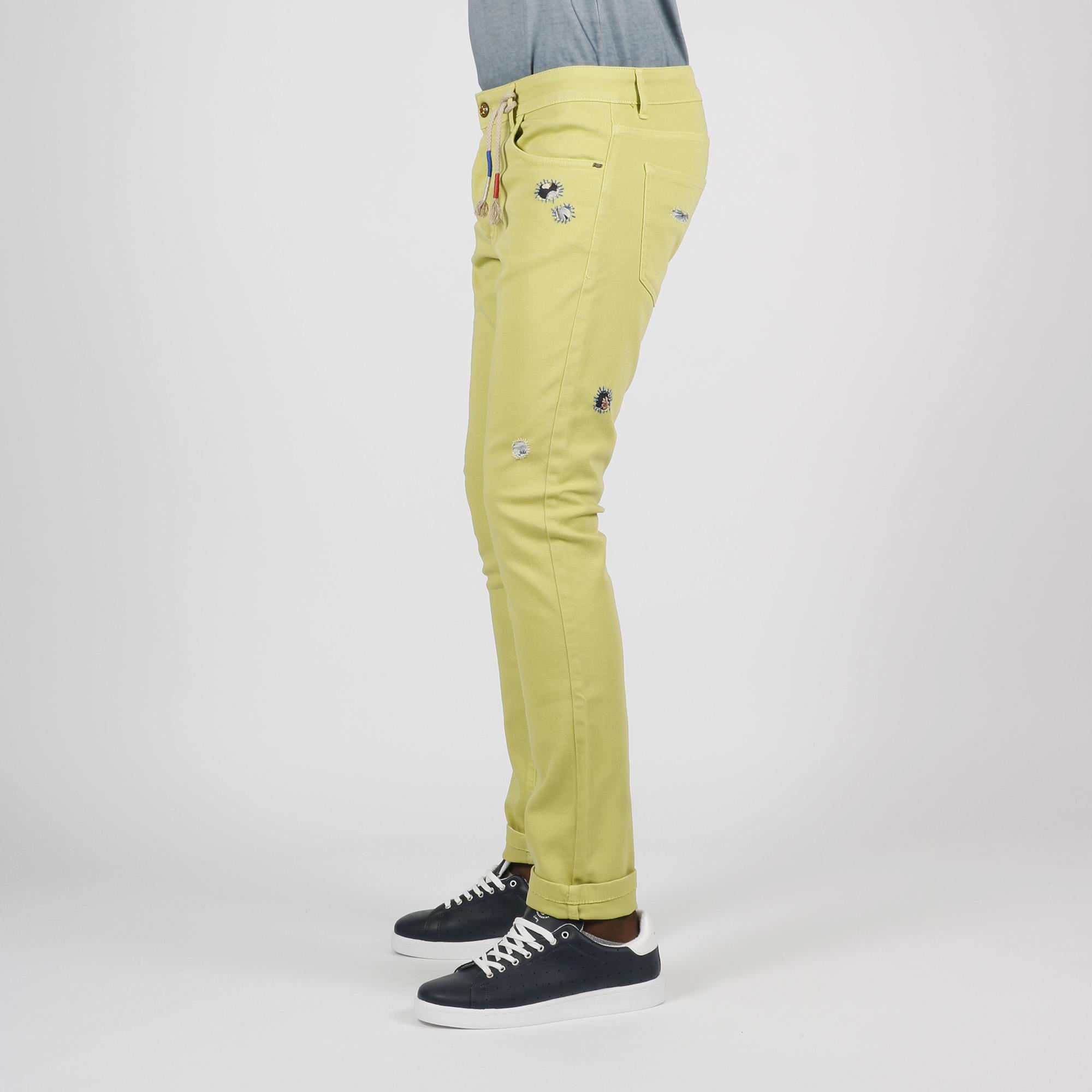 Jeans bull - Pistacchio