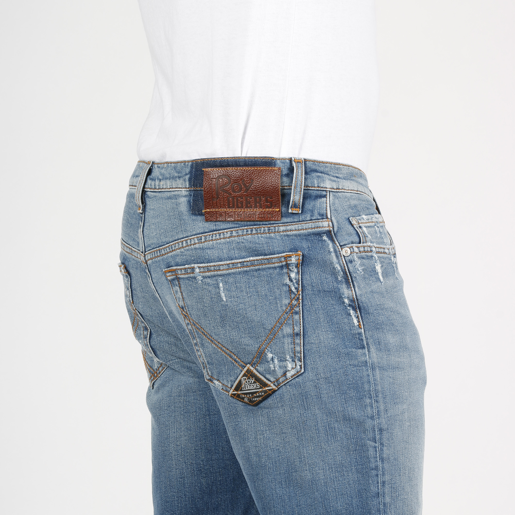 Jeans trechter - Denim