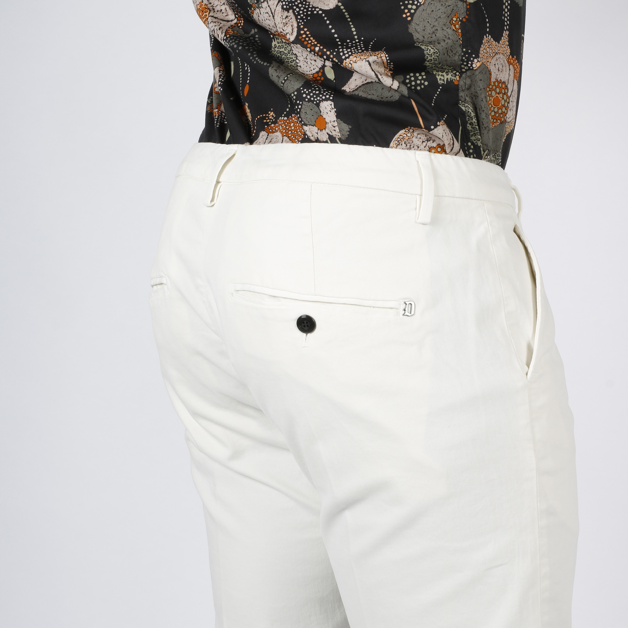 Pantalone Gaubert - Bianco
