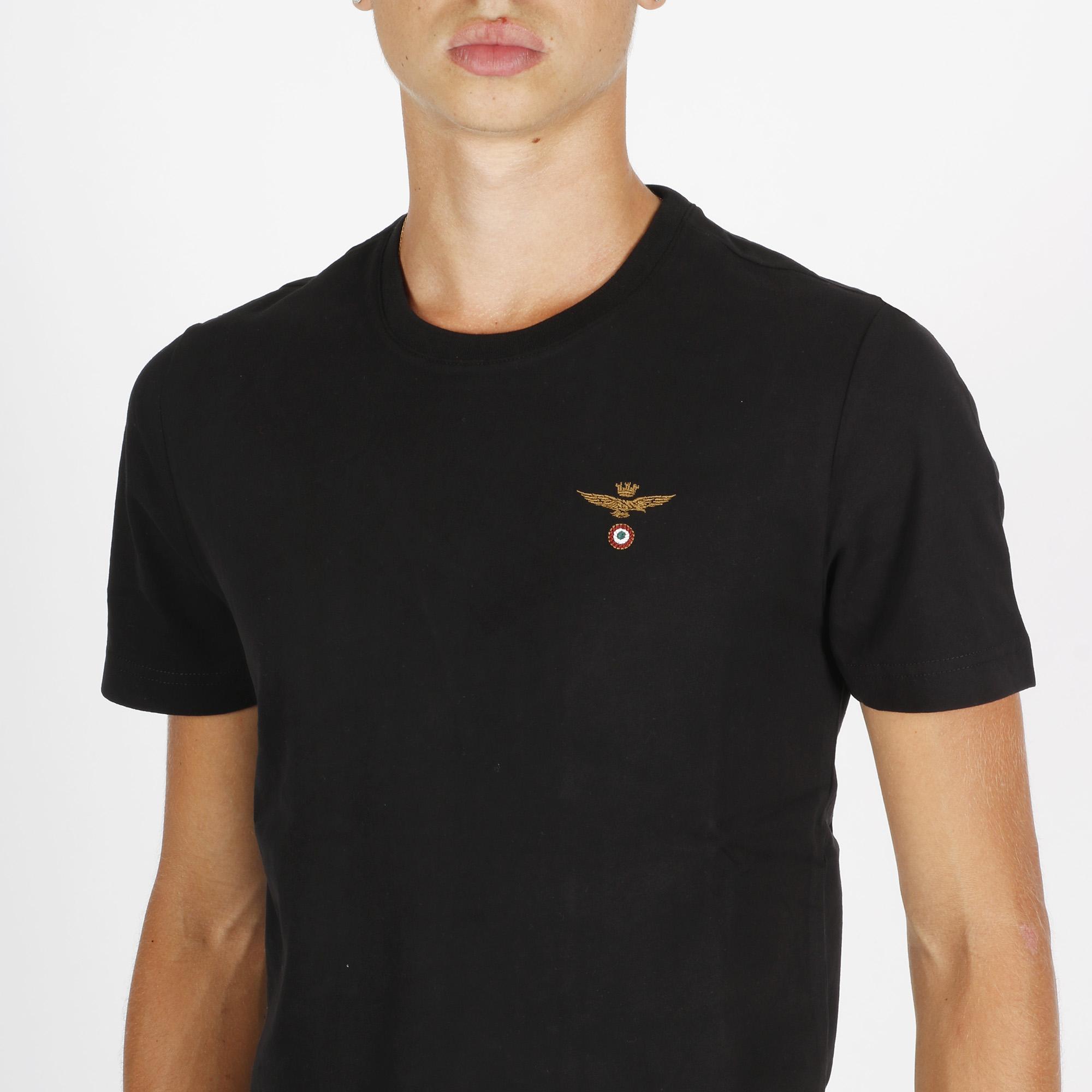 T-shirt logo am - Nero