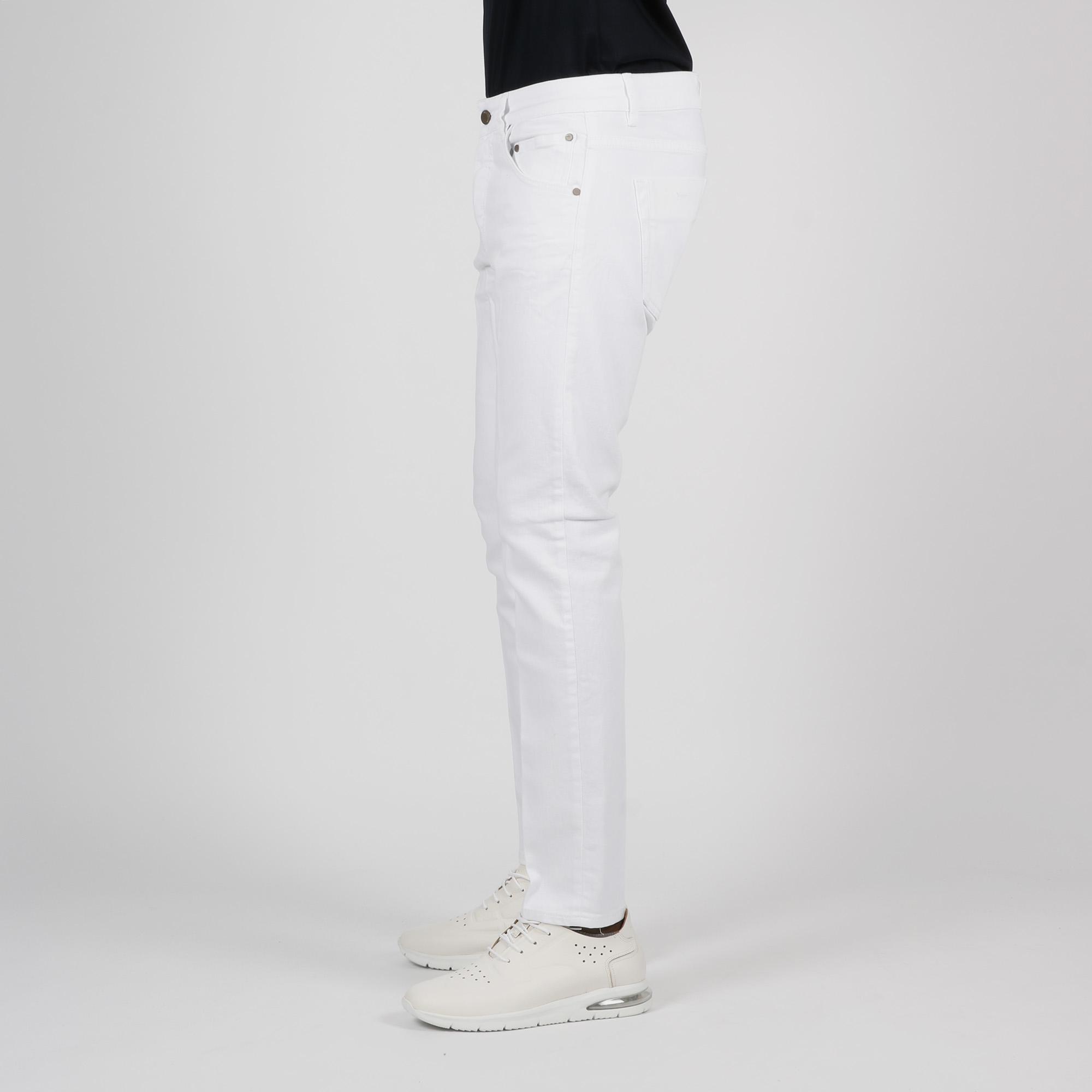 Jeans 5 tasche - Bianco