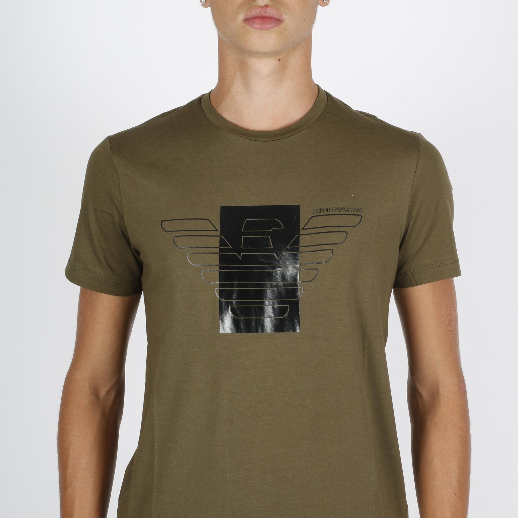 T-shirt st aquila - Verde oliva