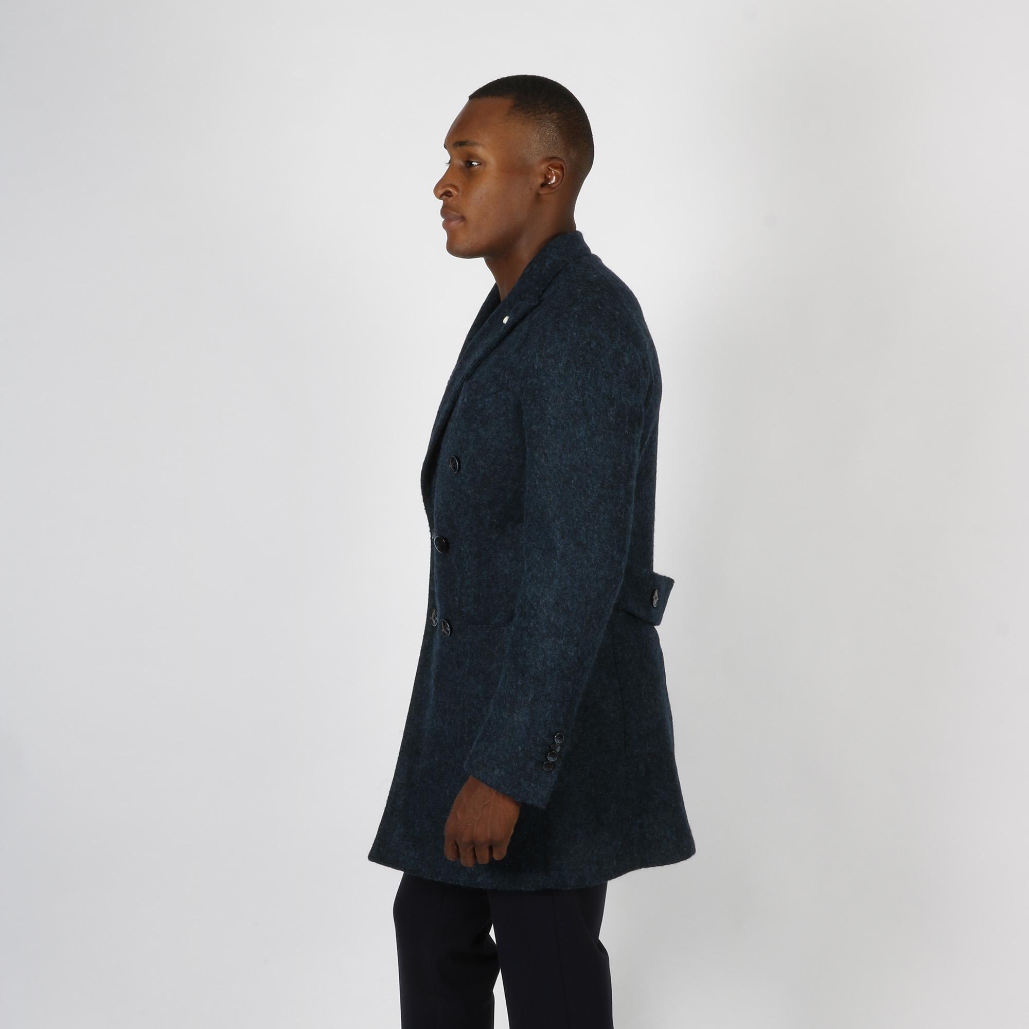Cappotto doppiopetto - Blu