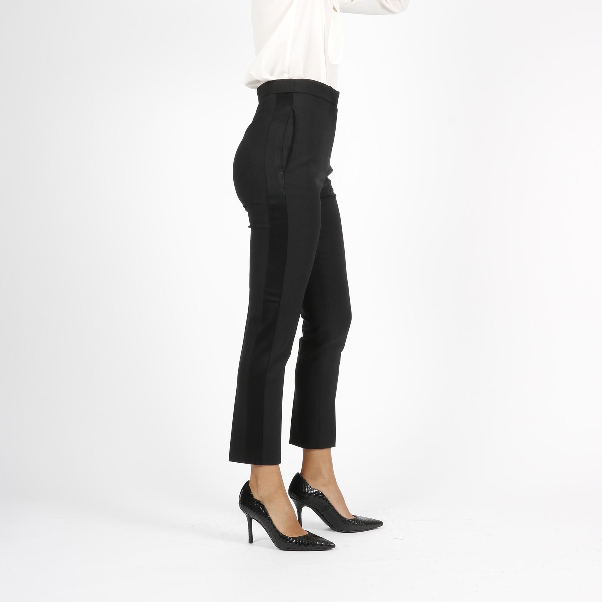 Pantalone banda laterale - Nero