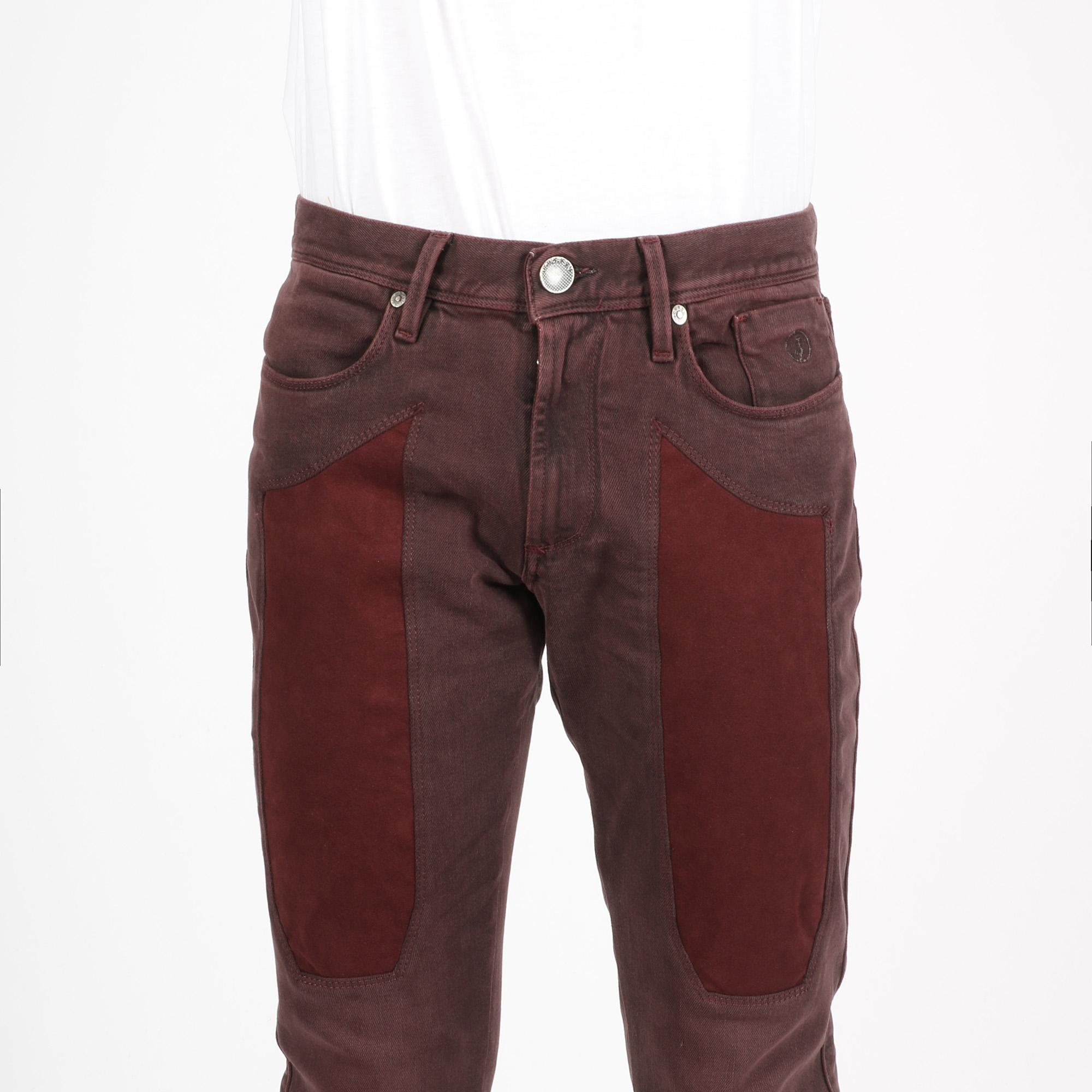 Jeans toppa bordeaux - Bordeaux
