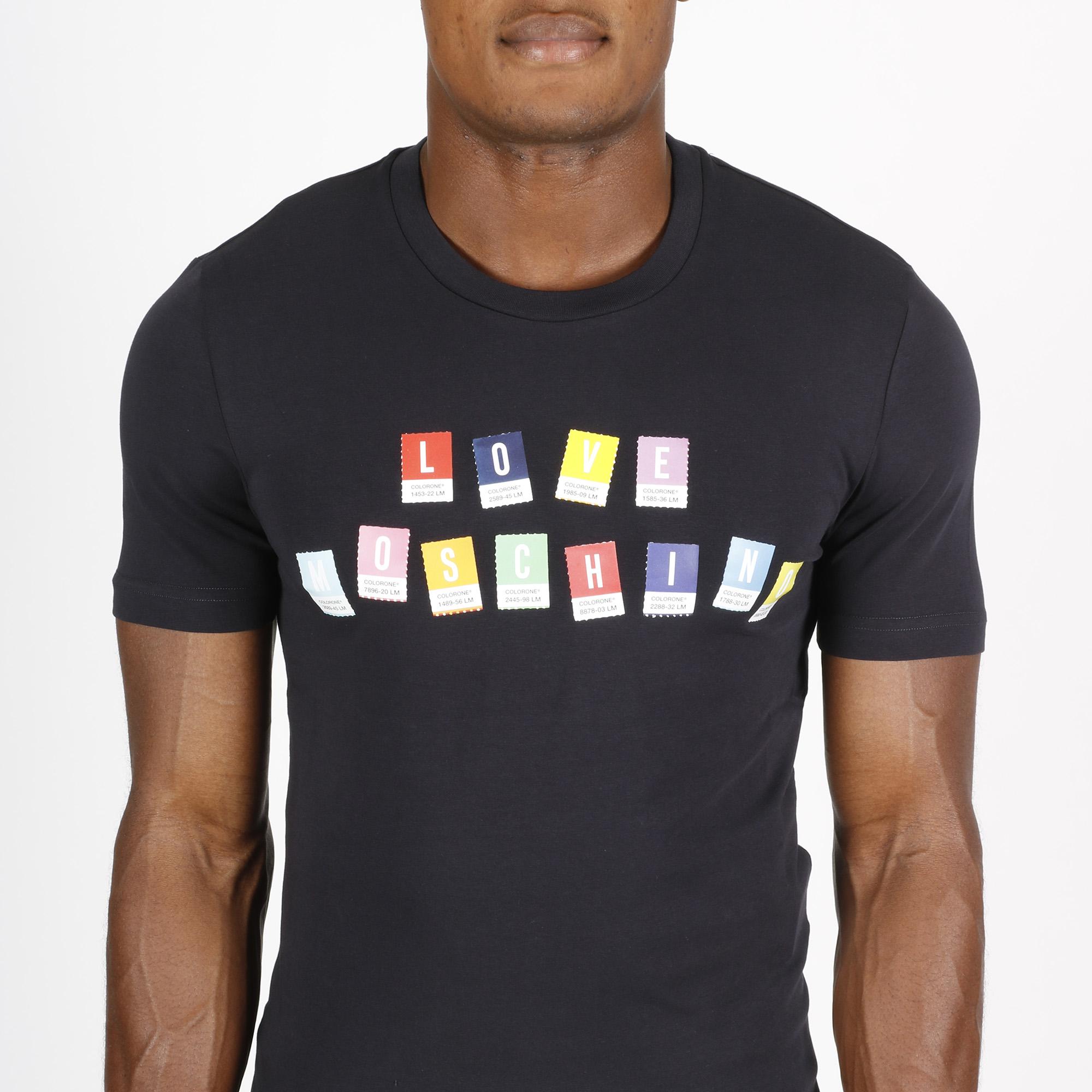 T-shirt logo colorone - Blu