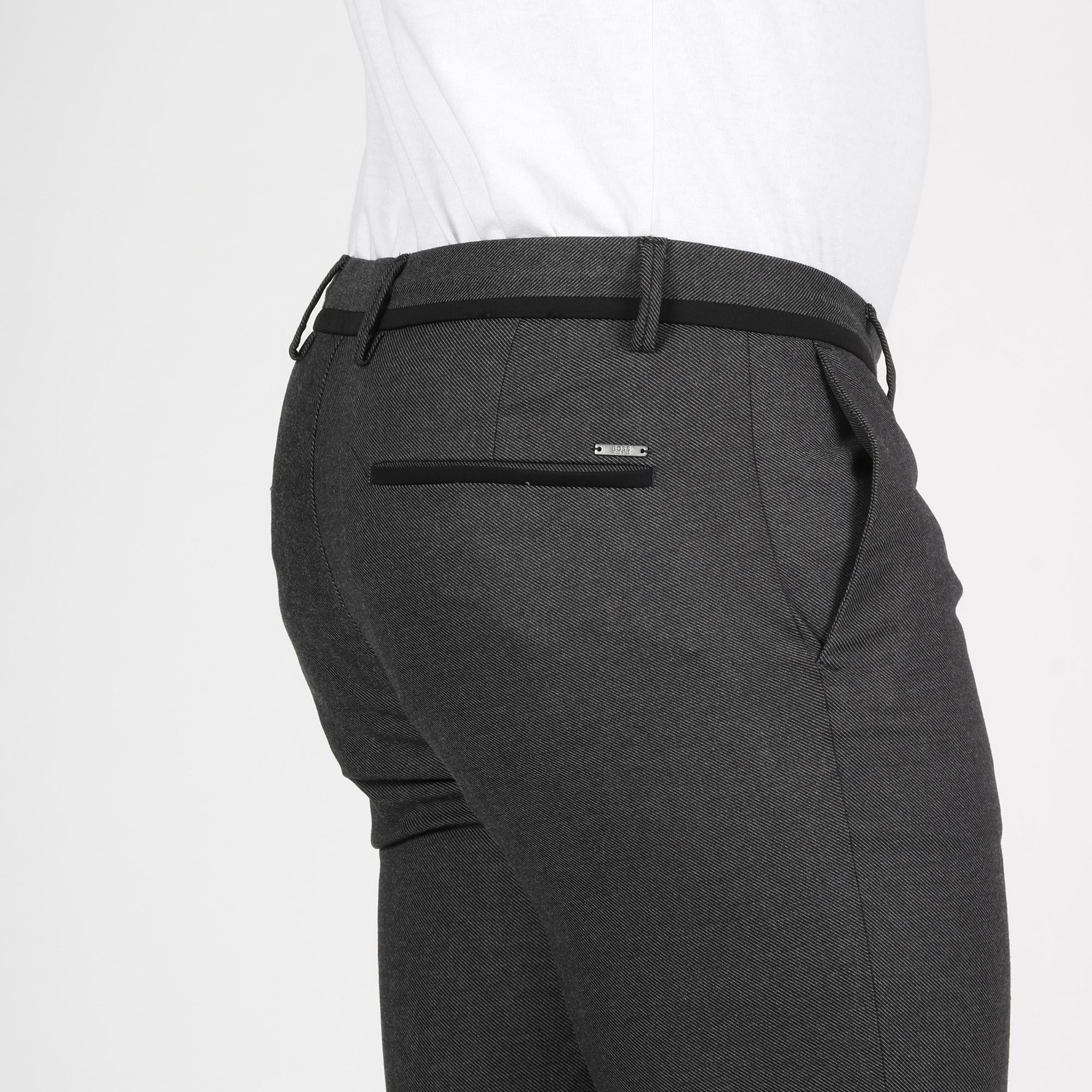 Pantalone polsini - Nero