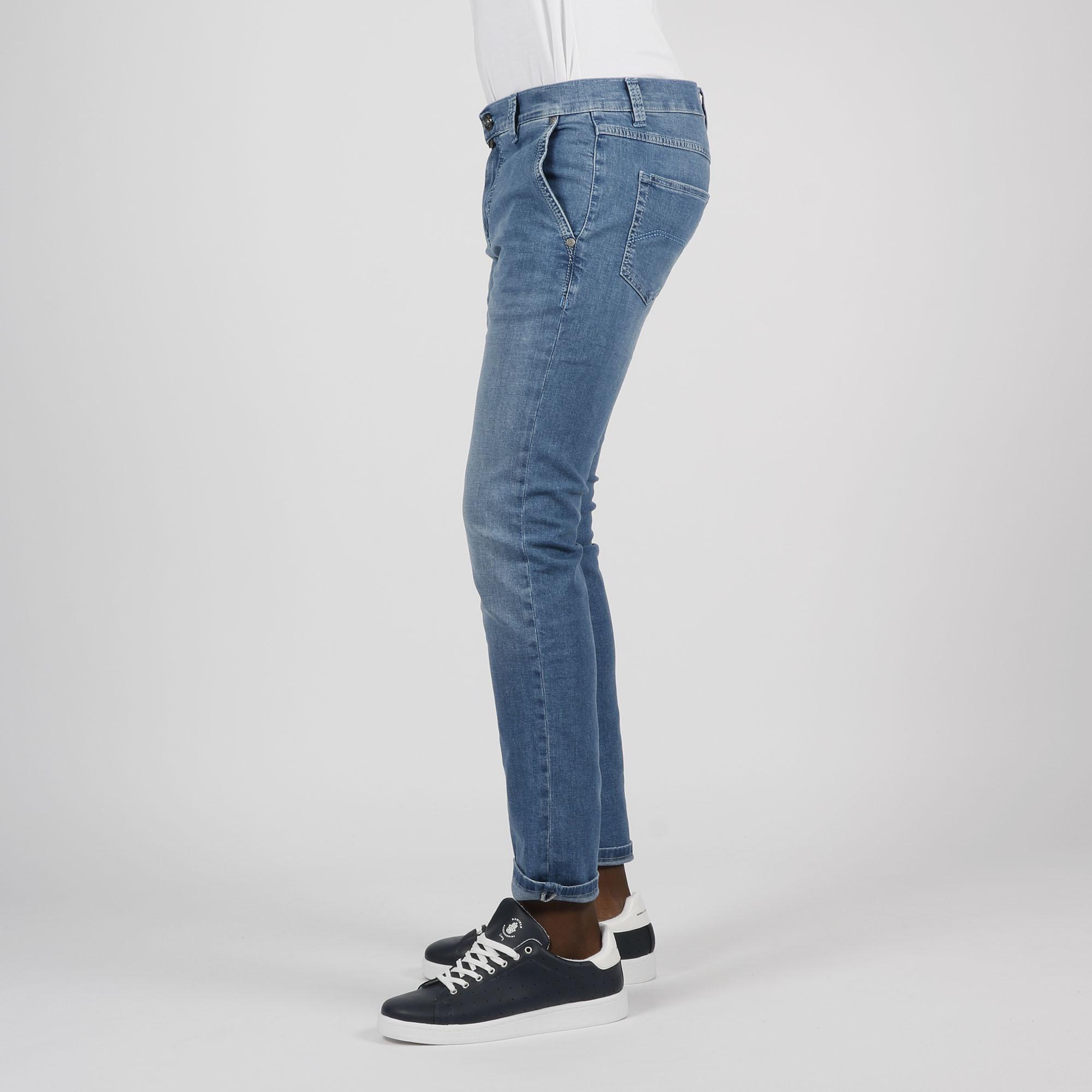 Jeans tasca america - Denim Chiaro
