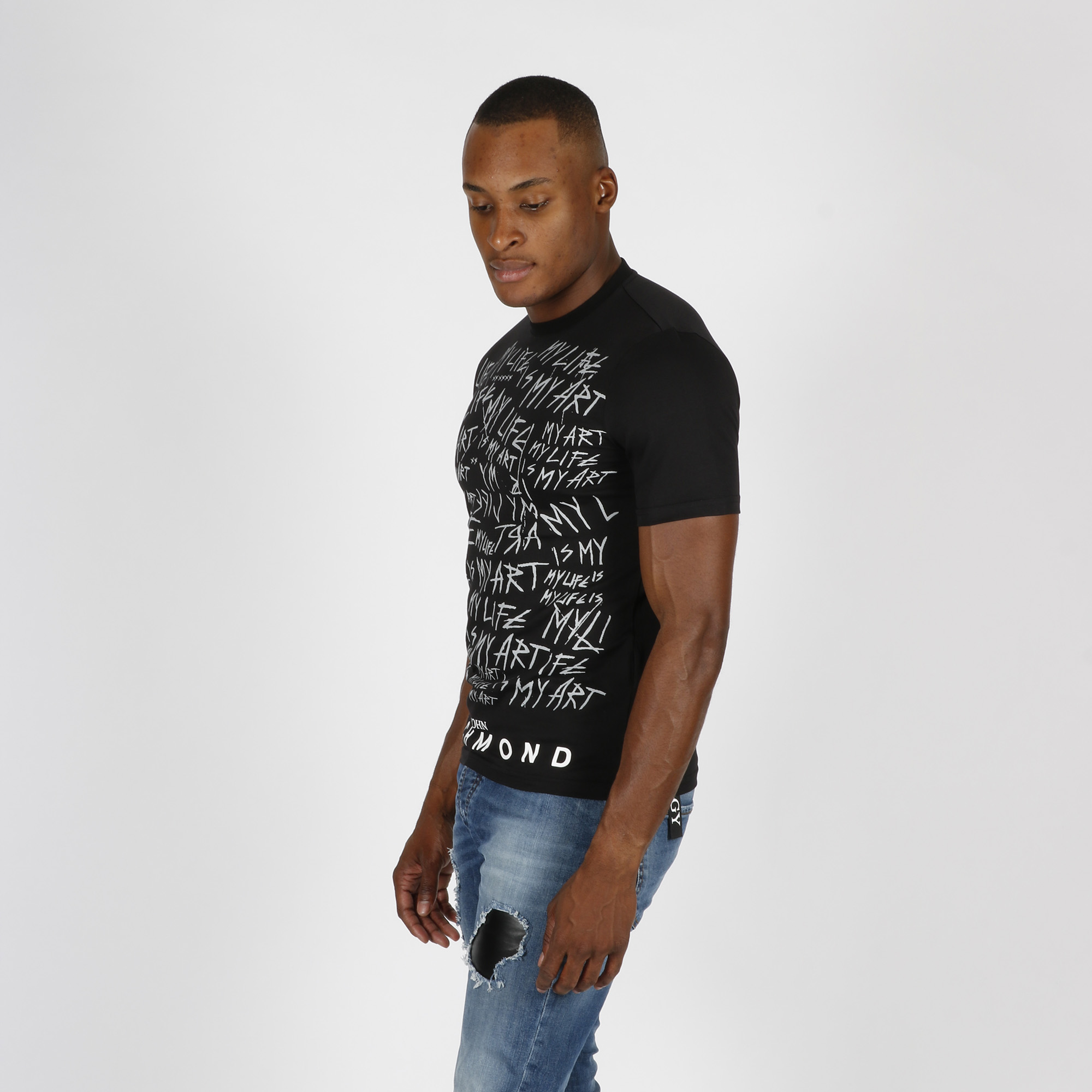 T-shirt simporo - Nero