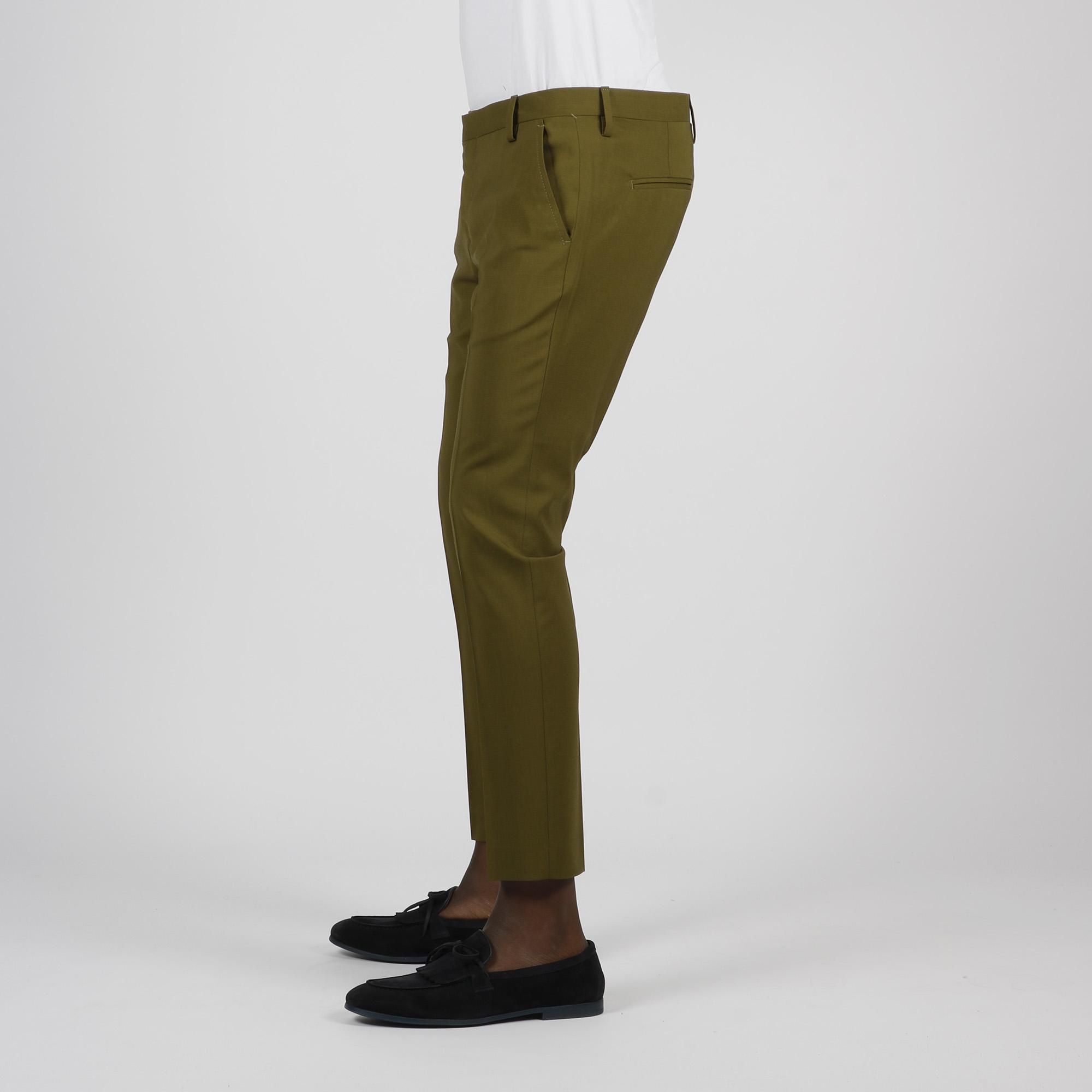 Pantalone tasca america - Verde