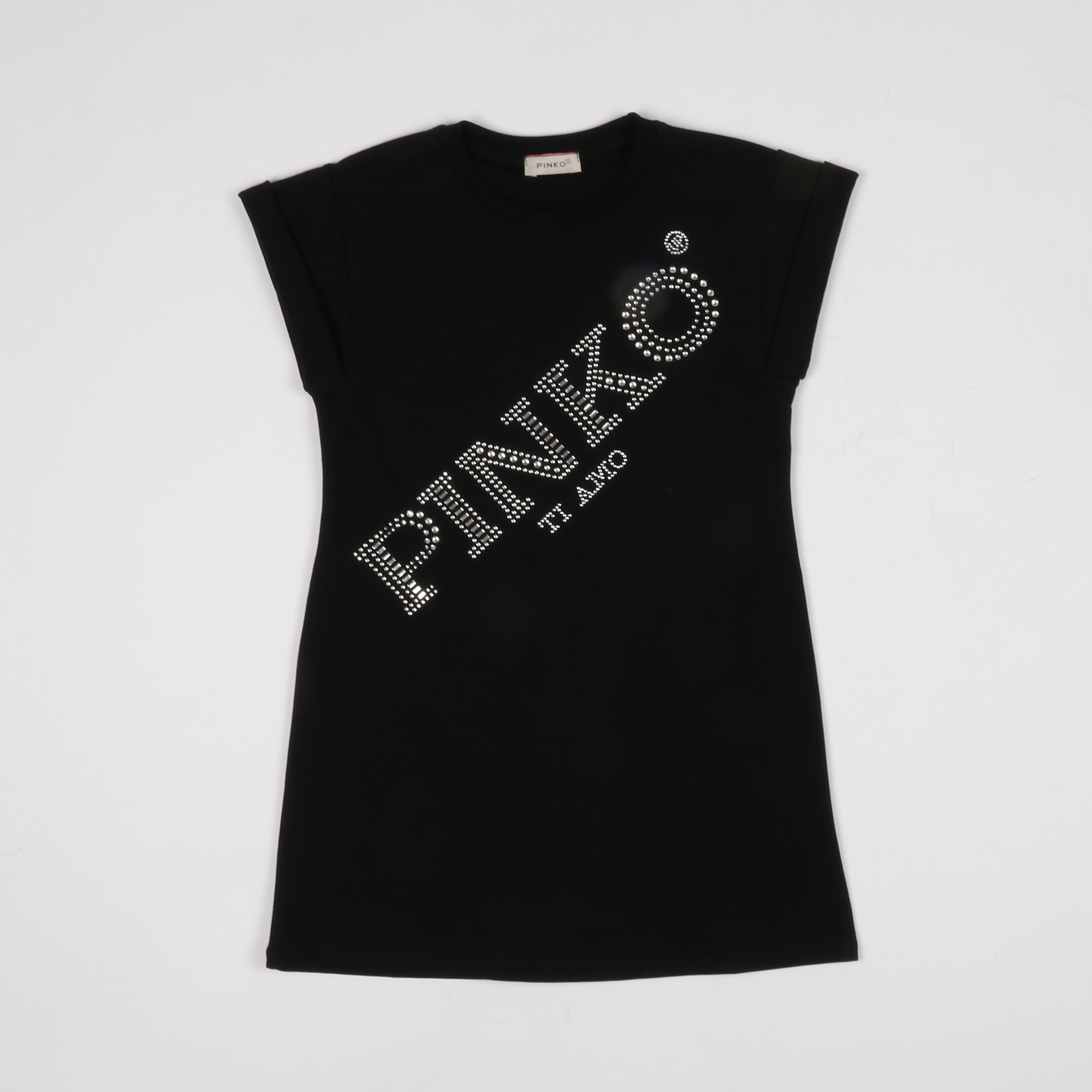 T-shirt logo optical - Blu