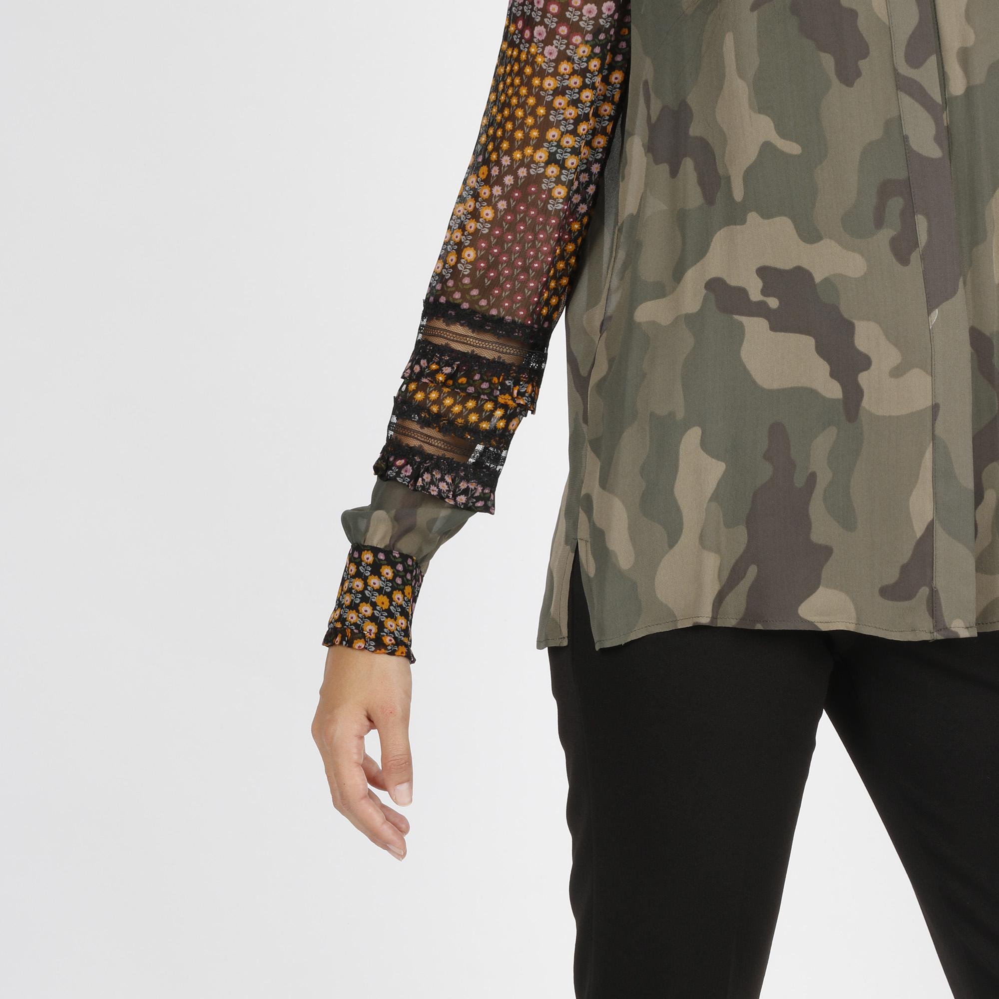 Camicia fiori - Camouflage